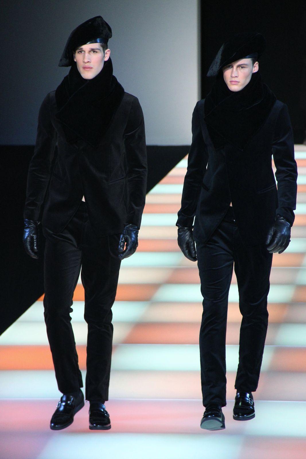 Emporio Armani Fall Winter 2012-2013 Men Fashion Show 245bd1c4a75