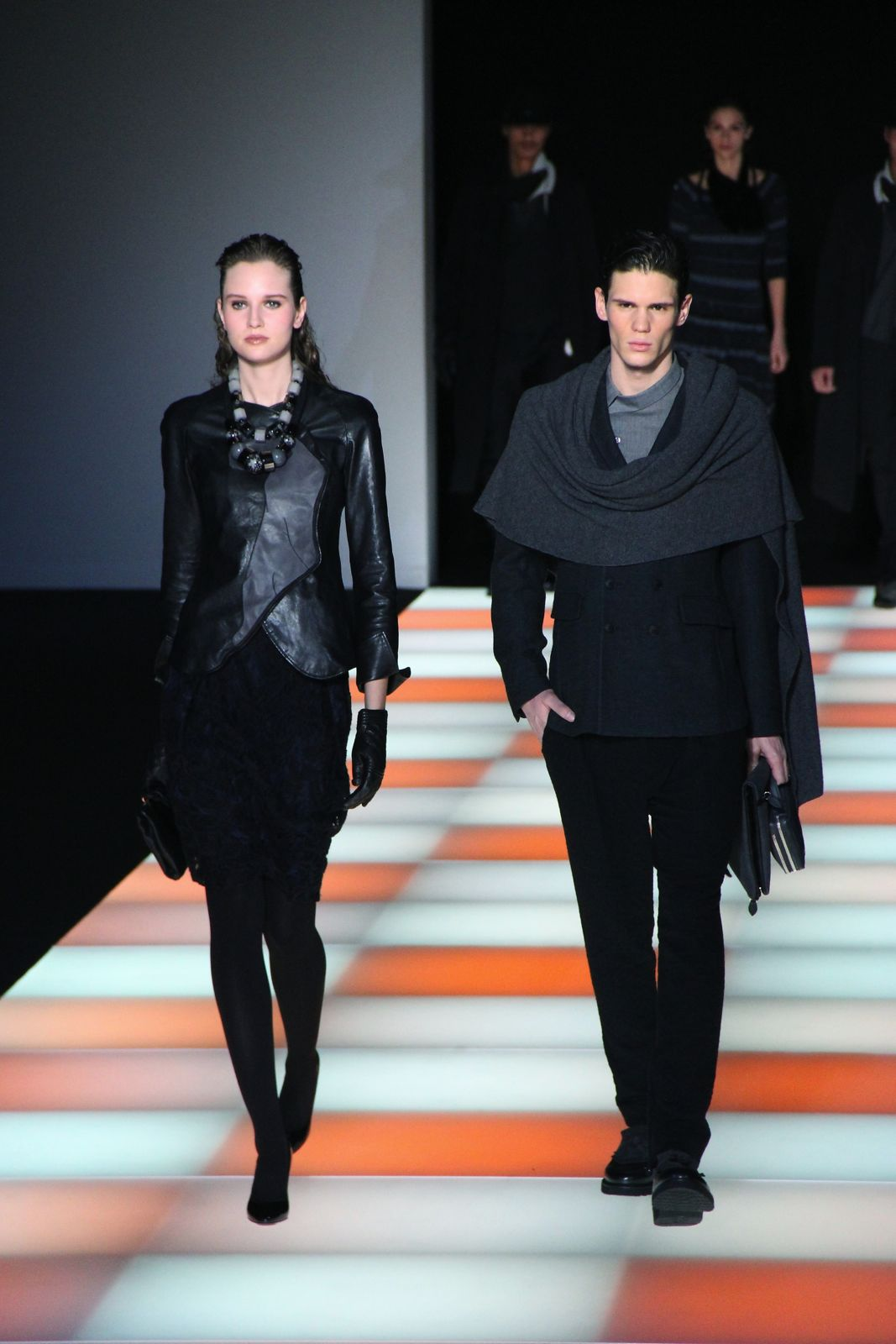Emporio Armani Fall Winter 2012-2013 Milano Fashion Week