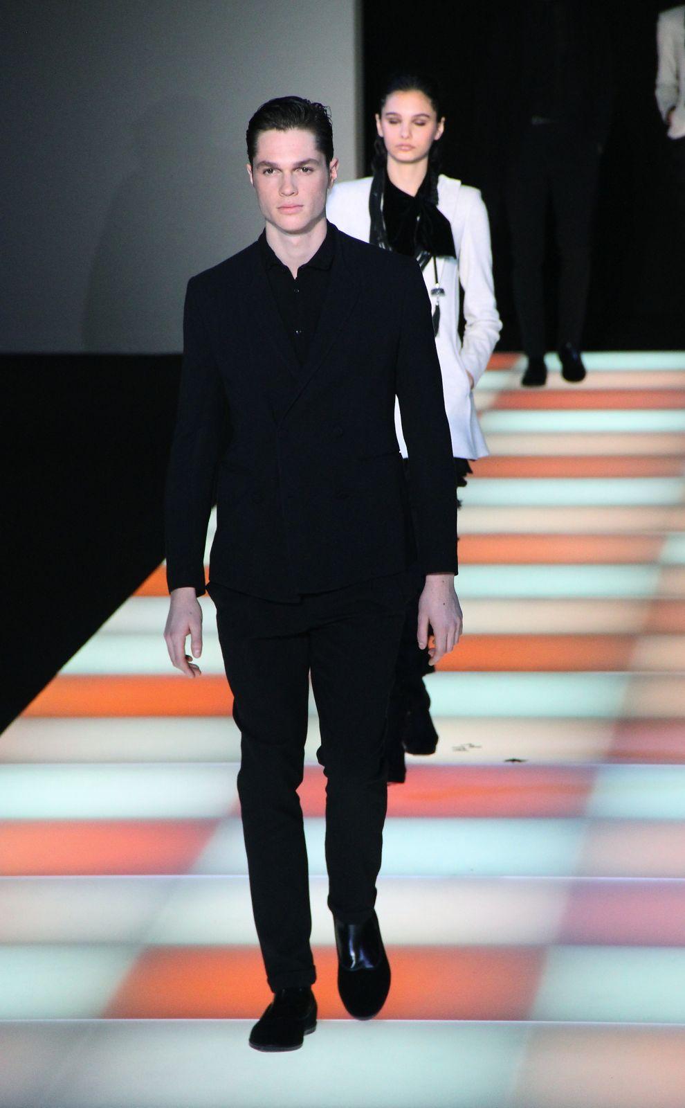 Emporio Armani Fashion Show Milano Fashion Week