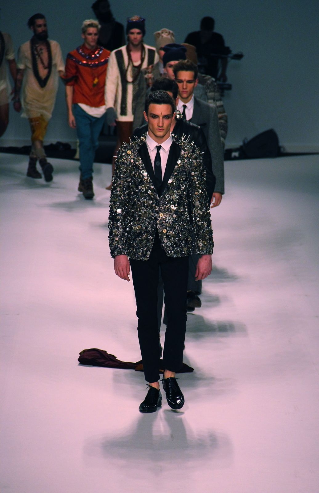 Frankie Morello Fall Winter 2012-13 Men's Collection Milano Fashion Week