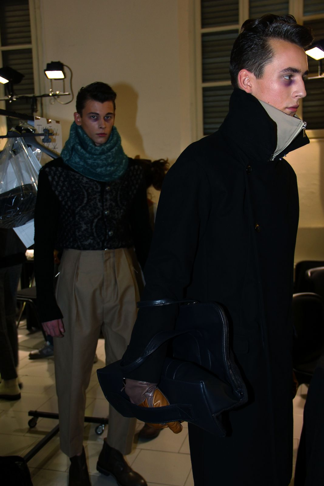 Gazzarrini Backstage Milano Fashion Week