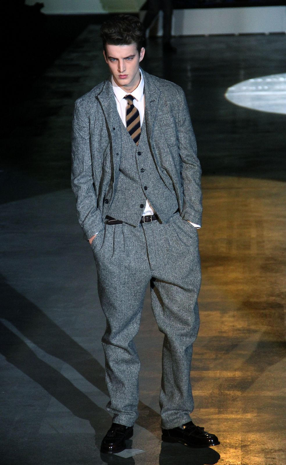 Iceberg Fall Winter 2012-13 Men's Collection Milano Fashion Week