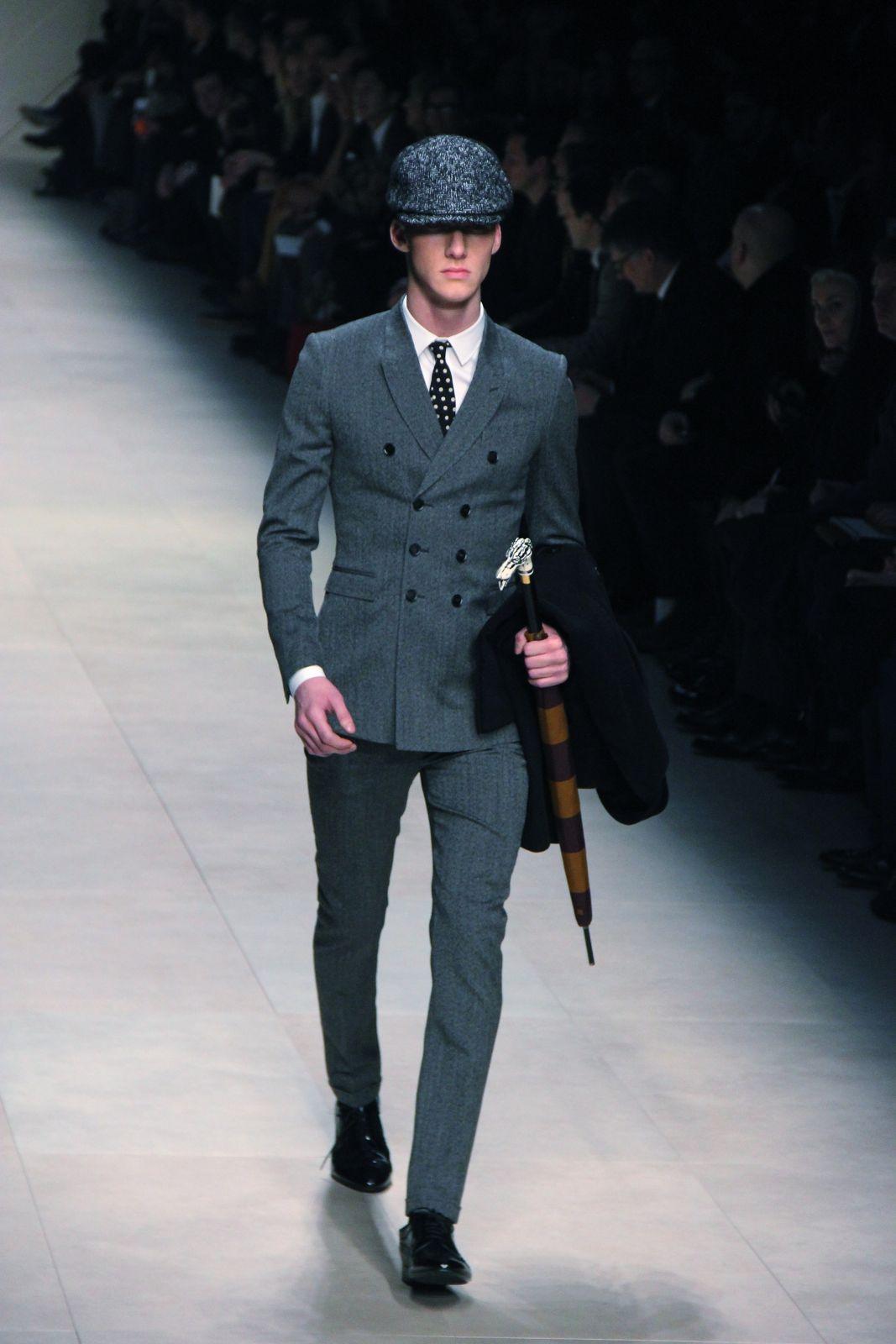 Milano Fashion Week Burberry Prorsum Fashion Show