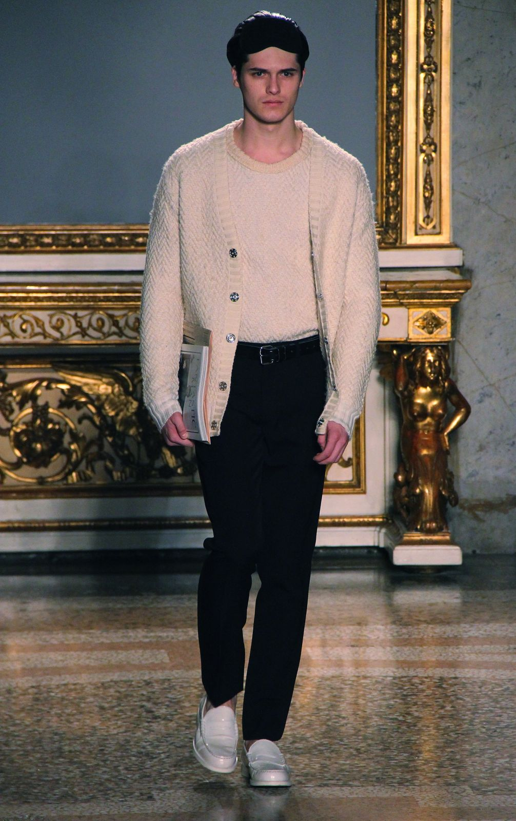 Nicole Farhi Fall Winter 2012 Men Milano Fashion Week