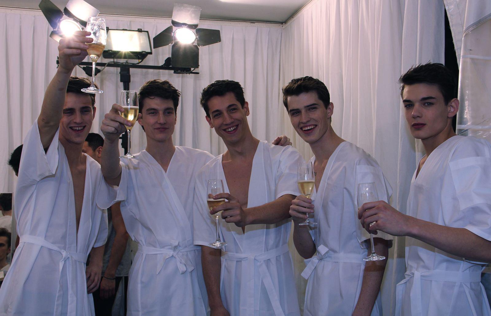 Valentino Backstage Pitti Immagine Uomo