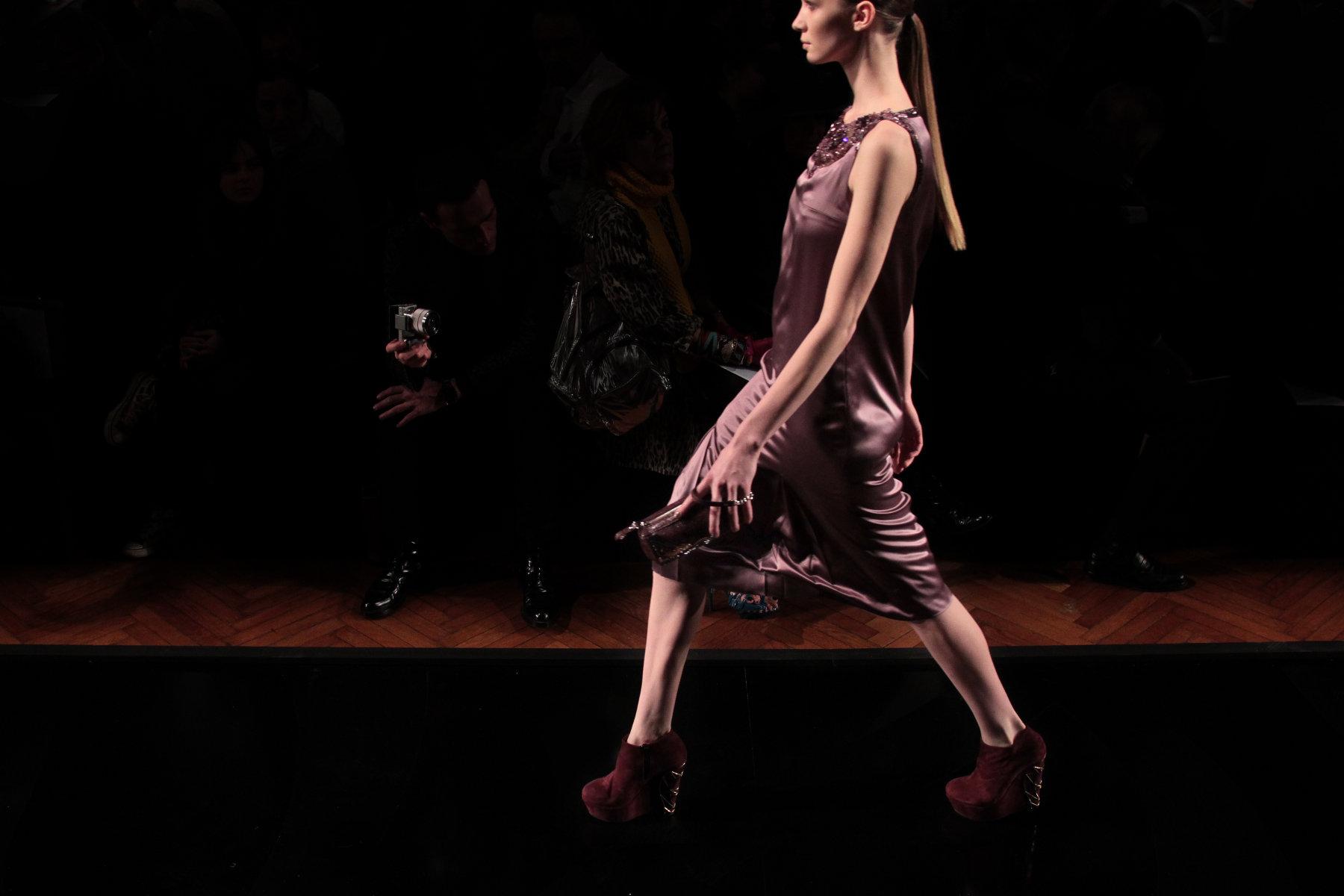 Aigner Fall-Winter 2012 Women Fashion Show Catwalk Milano Fashion Week