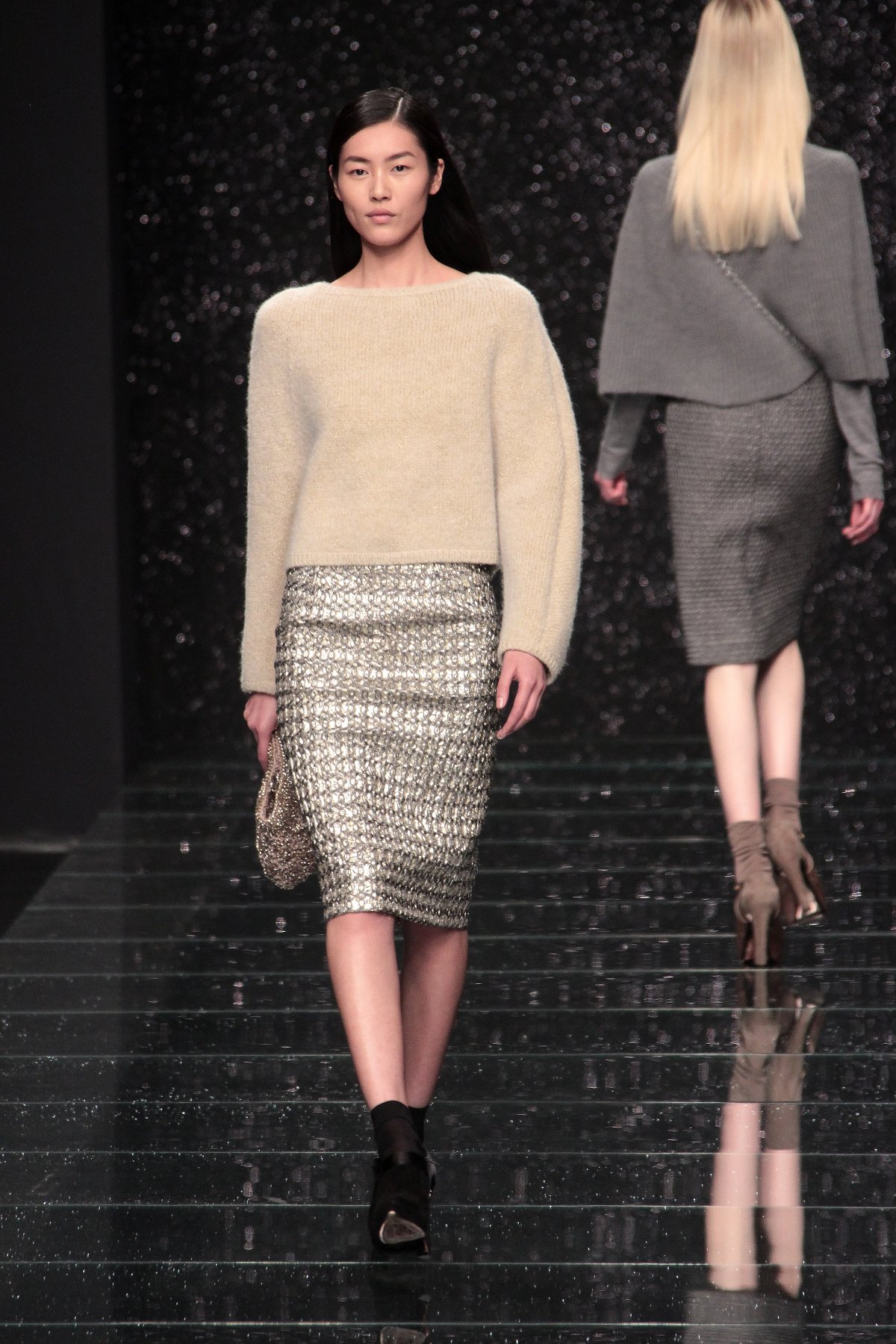 Anteprima Fall-Winter 2012 Women Fashion Show Catwalk Milano Fashion