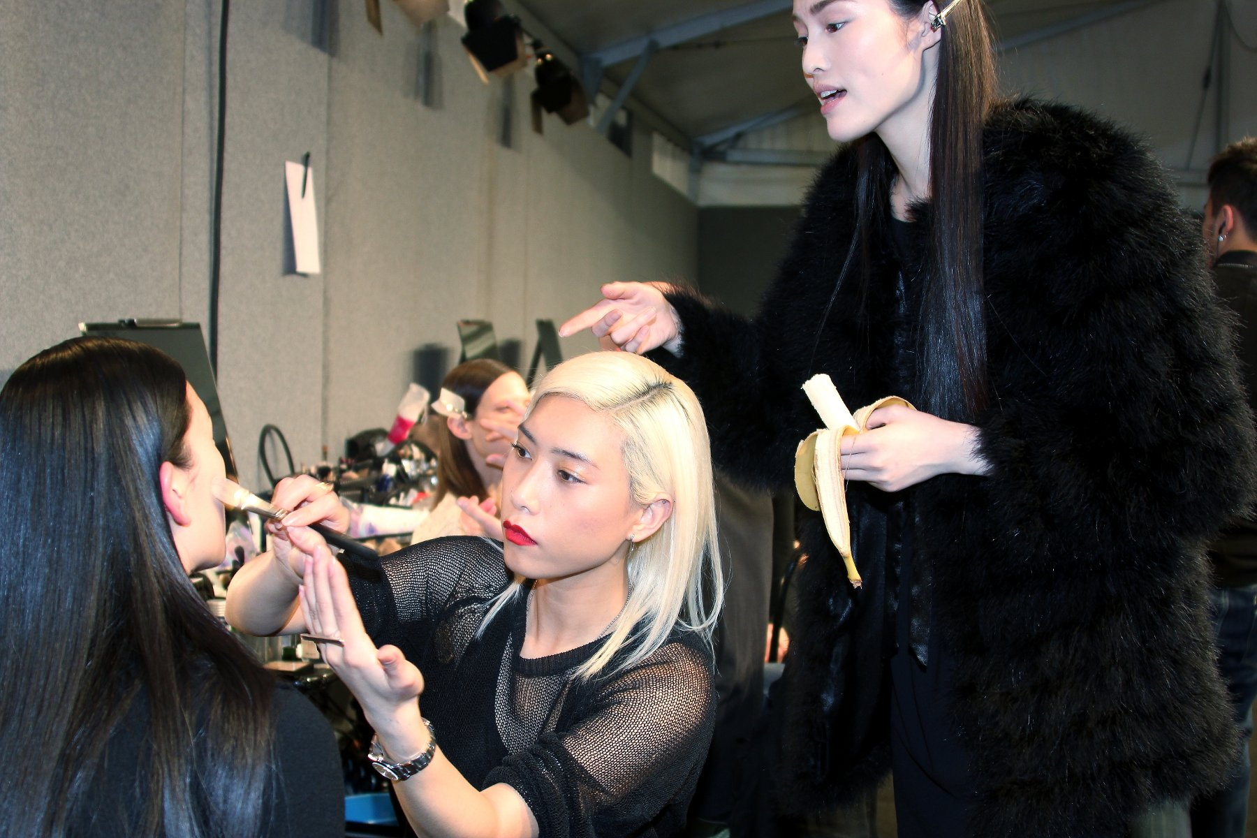 Backstage Anteprima 2012
