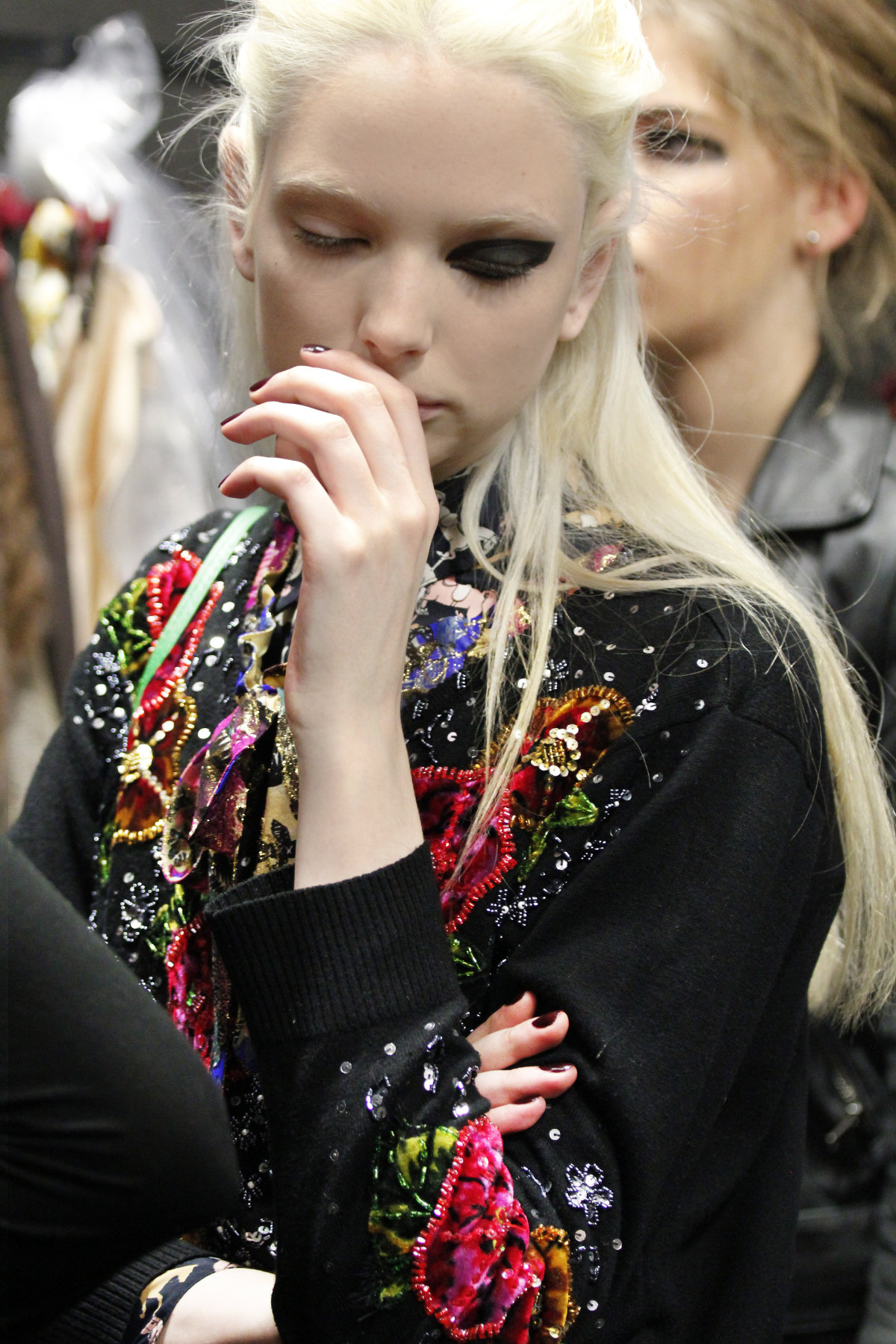 Backstage Antonio Marras Fall Winter 2012-2013