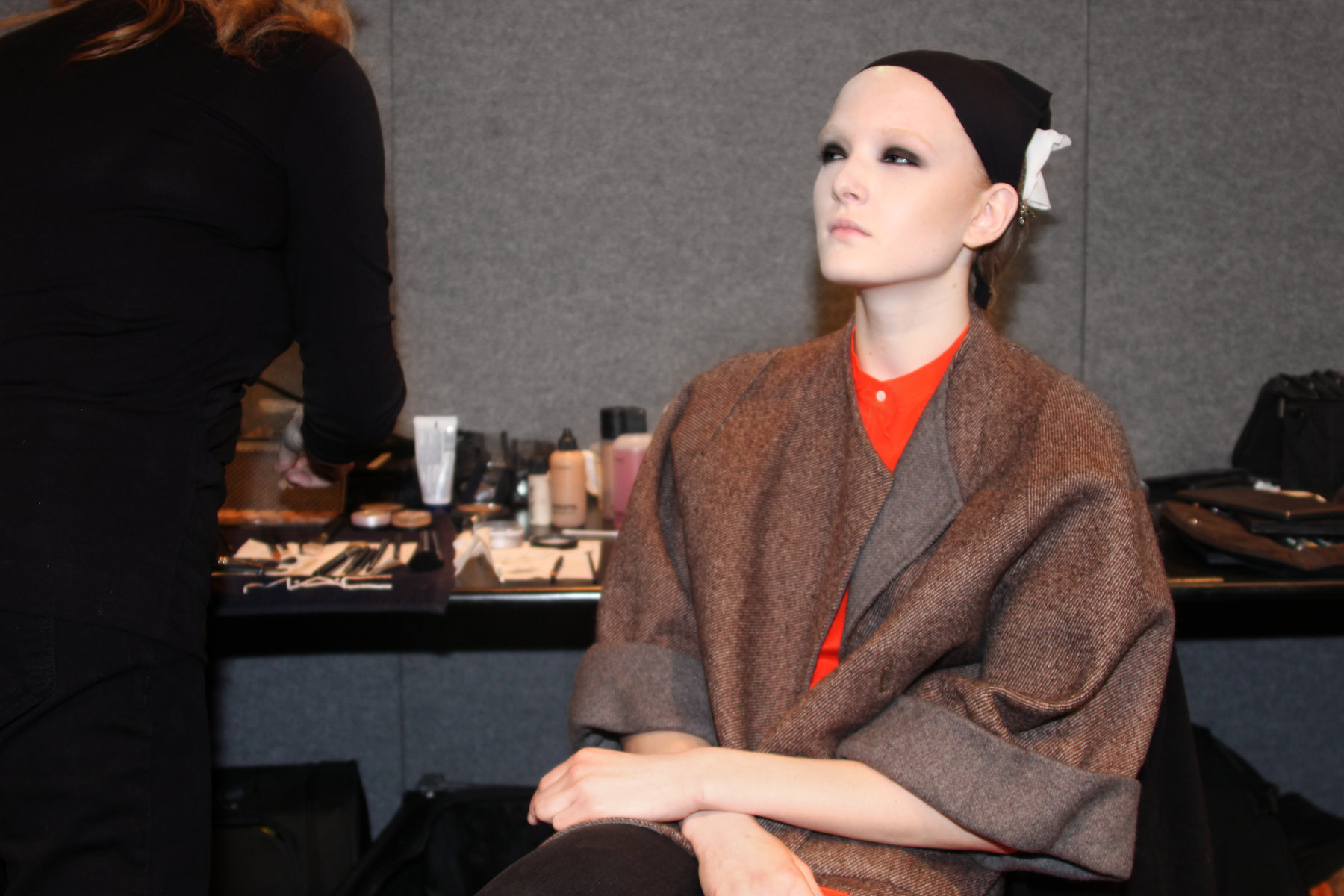 Backstage Costume National 2012