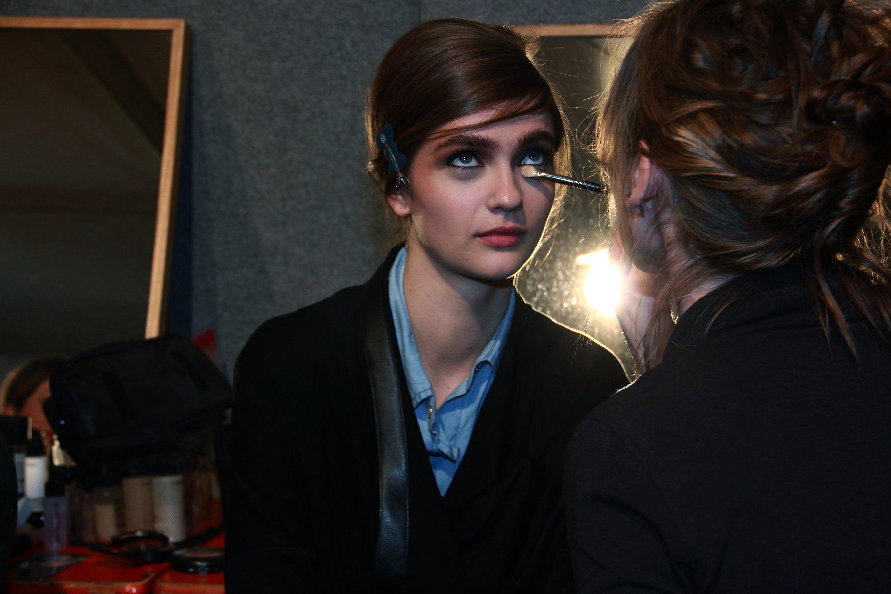 Backstage Ermanno Scervino Fall-Winter 2012-2013