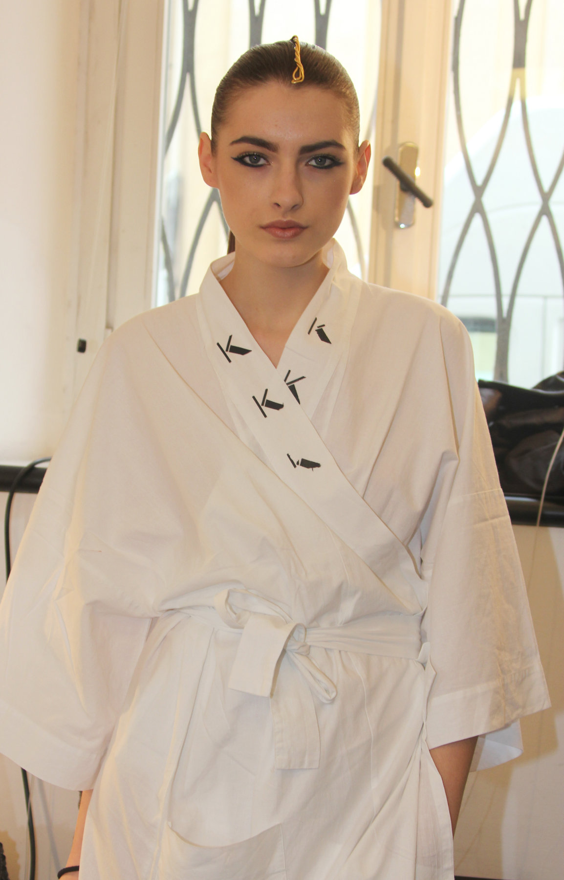 Backstage Krizia Fall-Winter 2012-2013