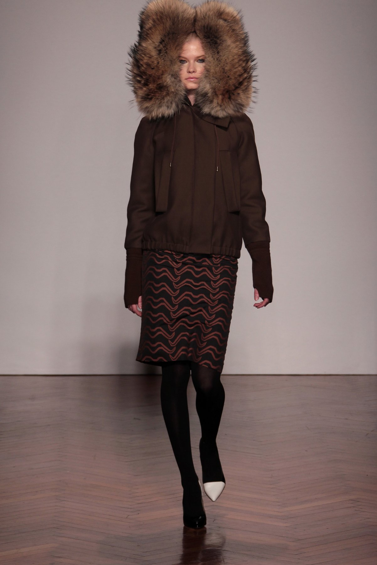Catwalk Sergio Zambon Fall-Winter 2012-2013 Women Fashion Show