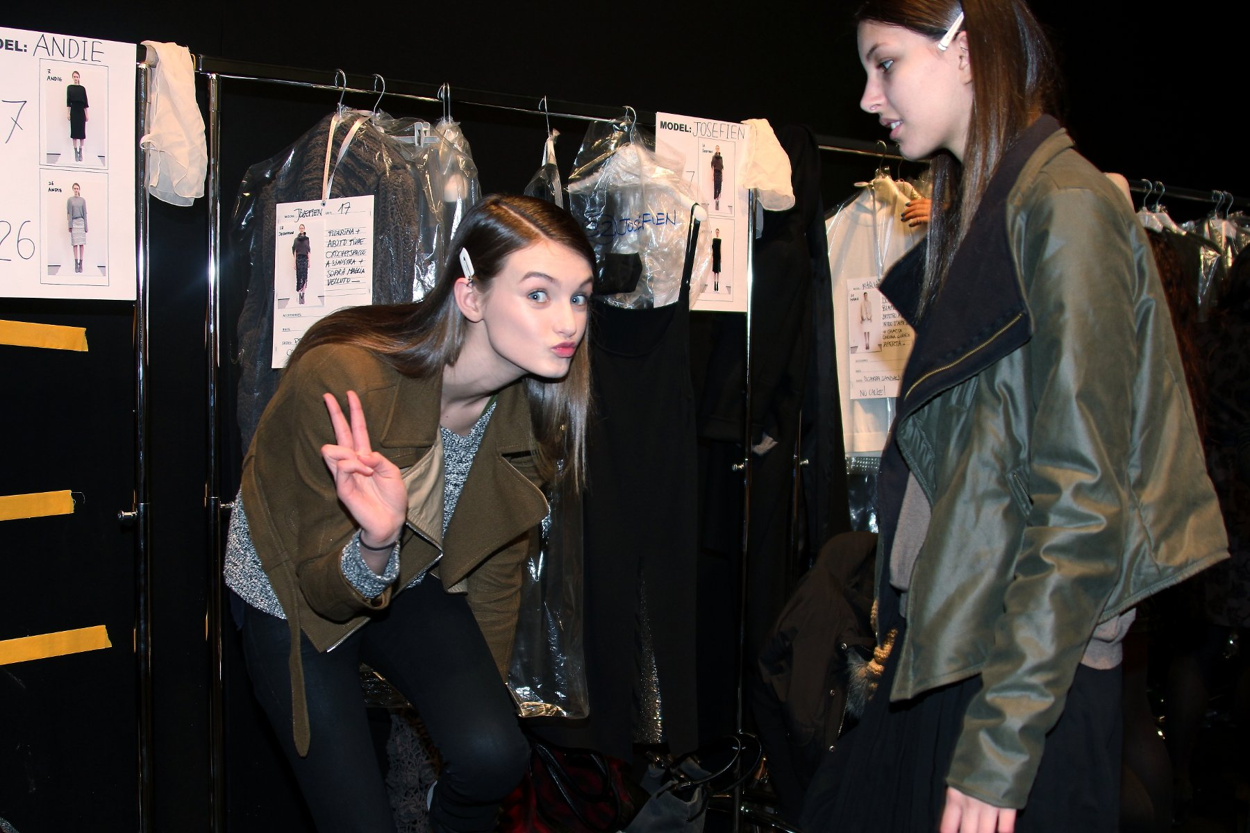 Fashion Backstage