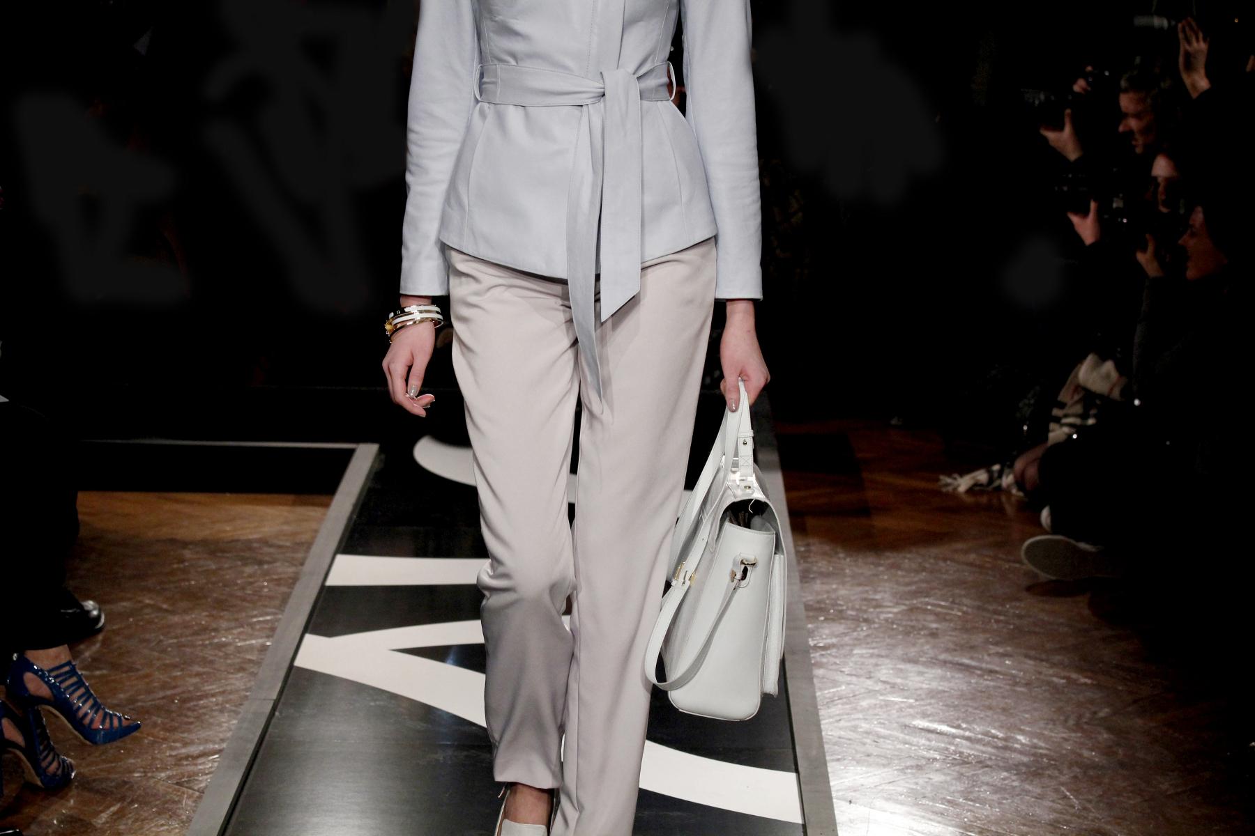 Woman Fashion Catwalk Aigner