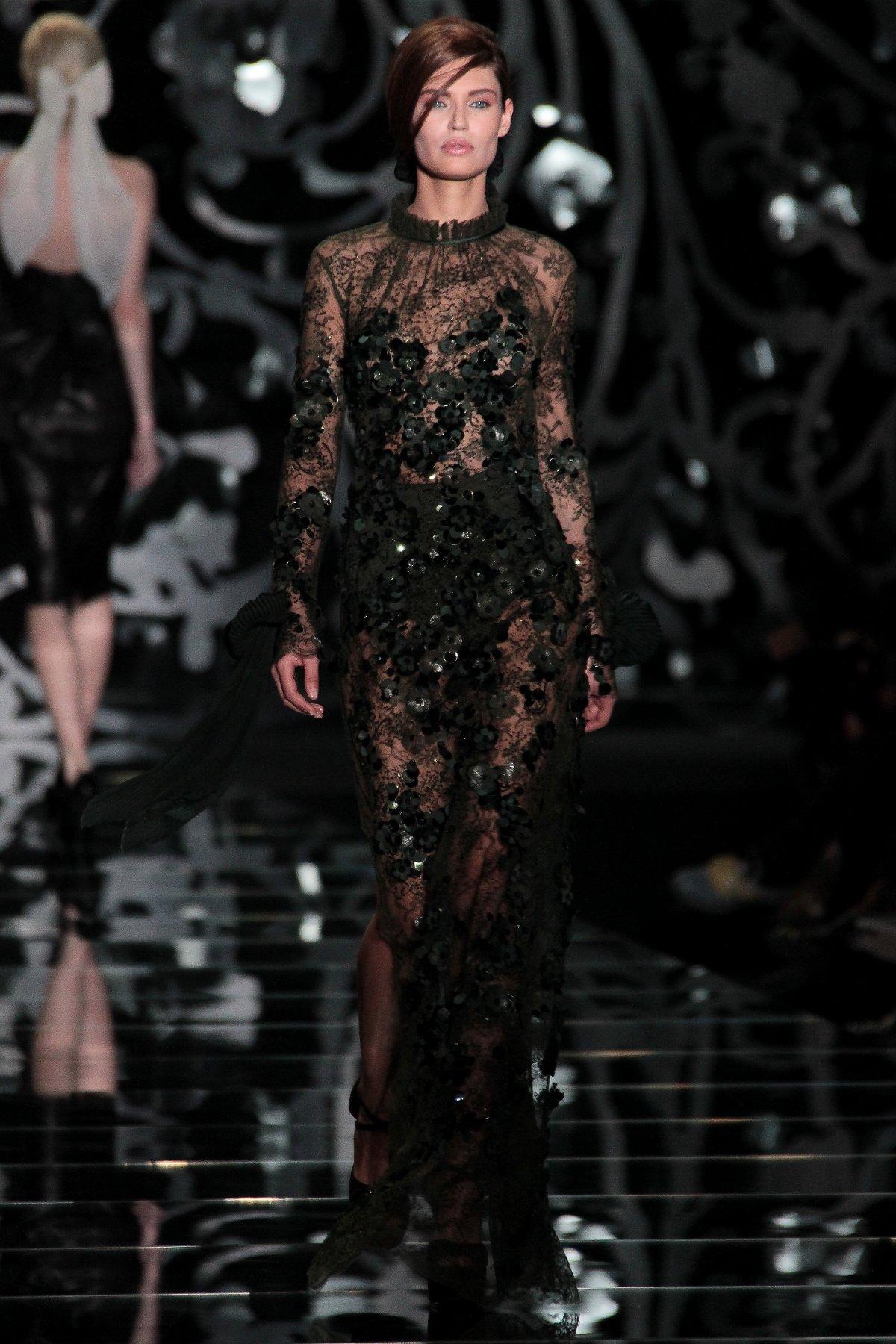 Woman Fashion Catwalk Ermanno Scervino