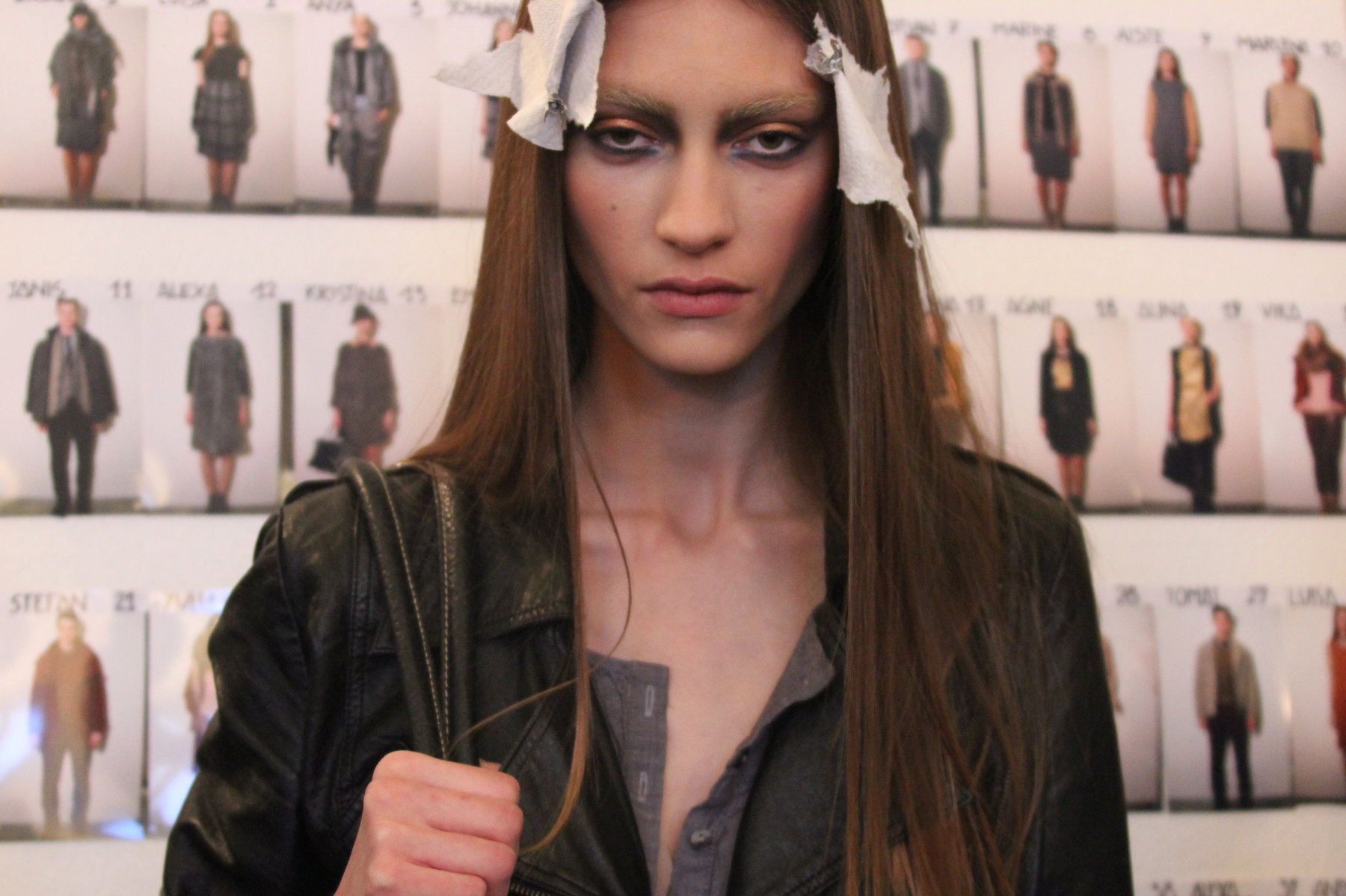 Backstage Rebecchi Fall-Winter 2012-2013 Fashion Show