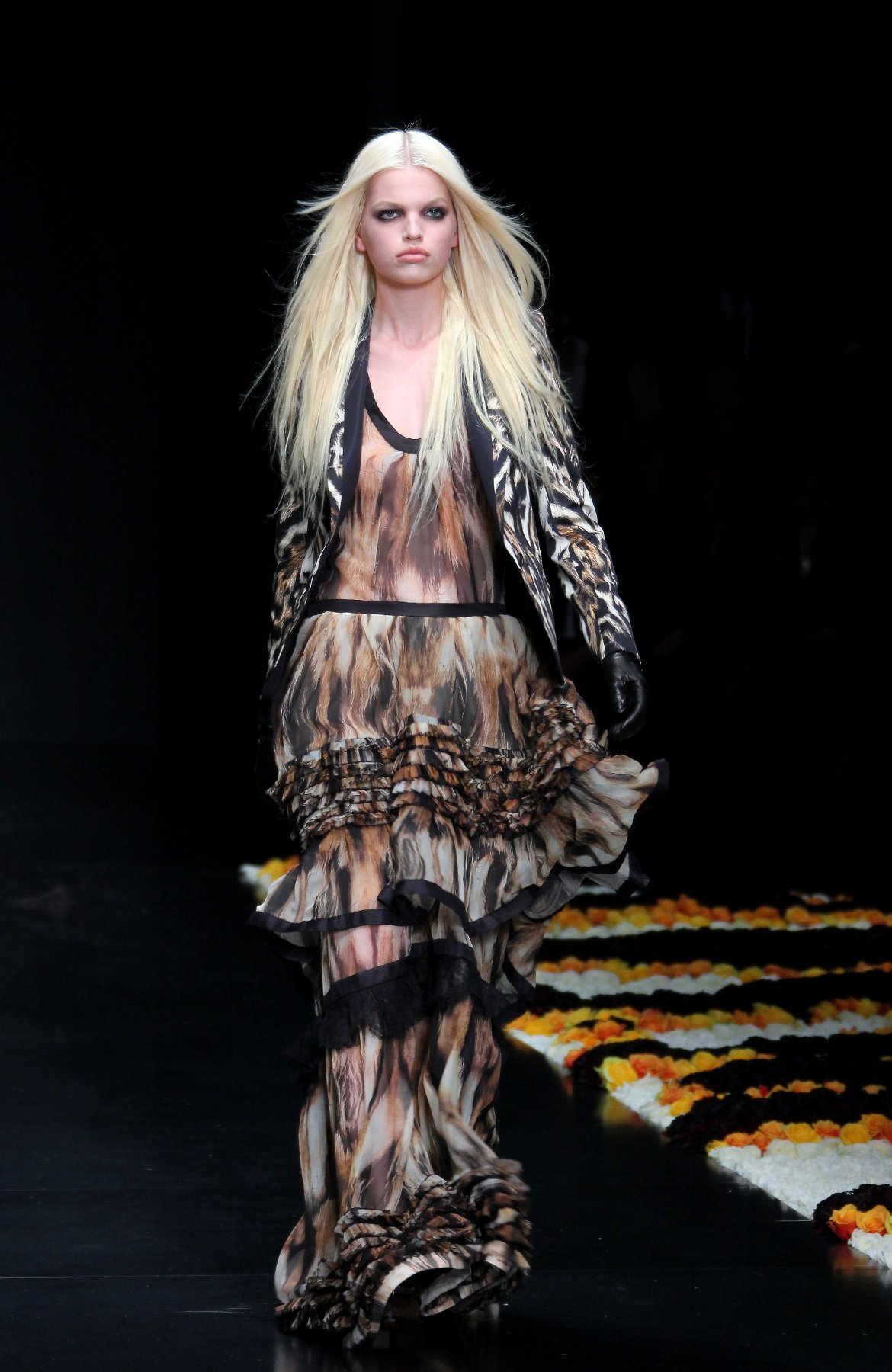 Fall Winter 2013 Roberto Cavalli Catwalk