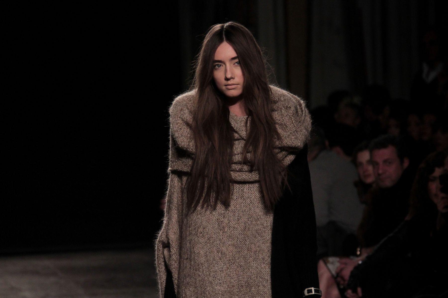 Uma Wang Fall-Winter 2012-2013 Women Fashion Show Catwalk-Milano Fashion Week
