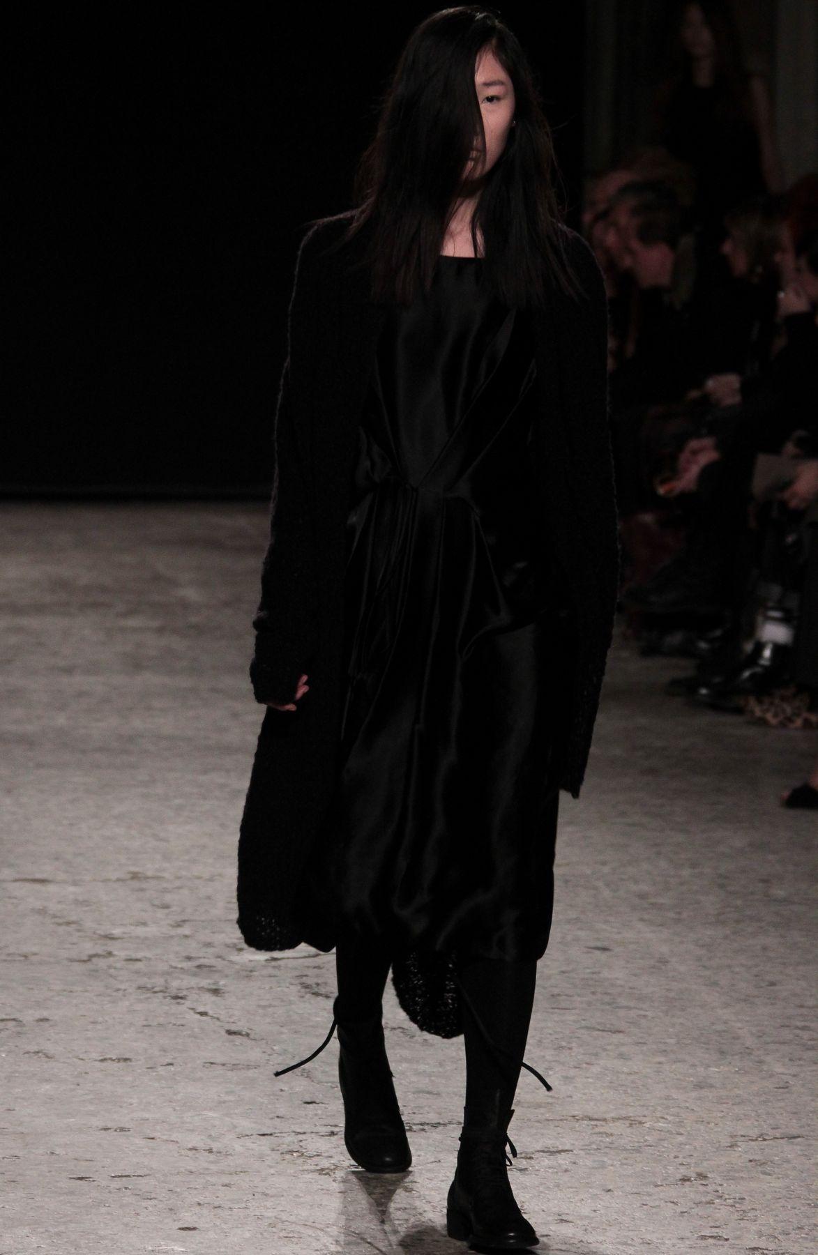 Uma Wang Fall-Winter 2012 Women's collection