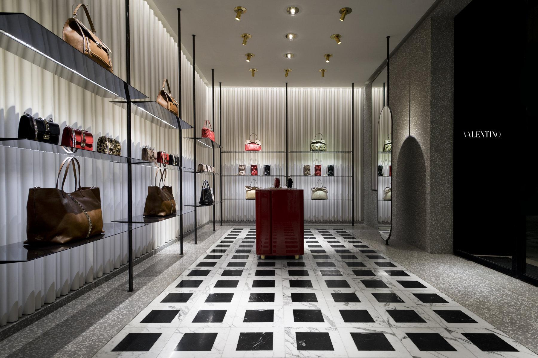 Valentino - New Store Concept by Maria Grazia Chiuri, Pierpaolo Piccioli and David Chipperfield