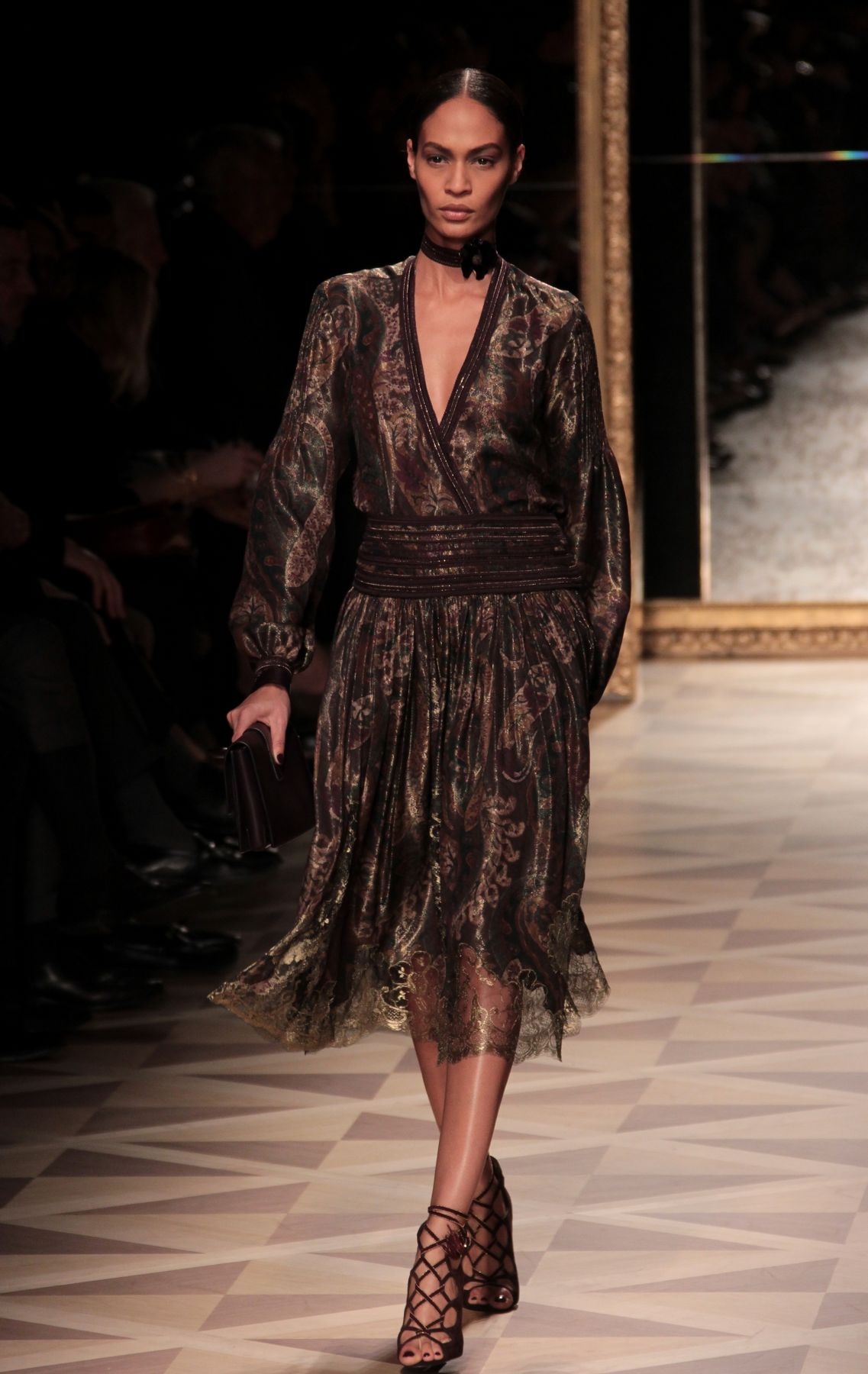 Woman Fashion Catwalk-Salvatore Ferragamo