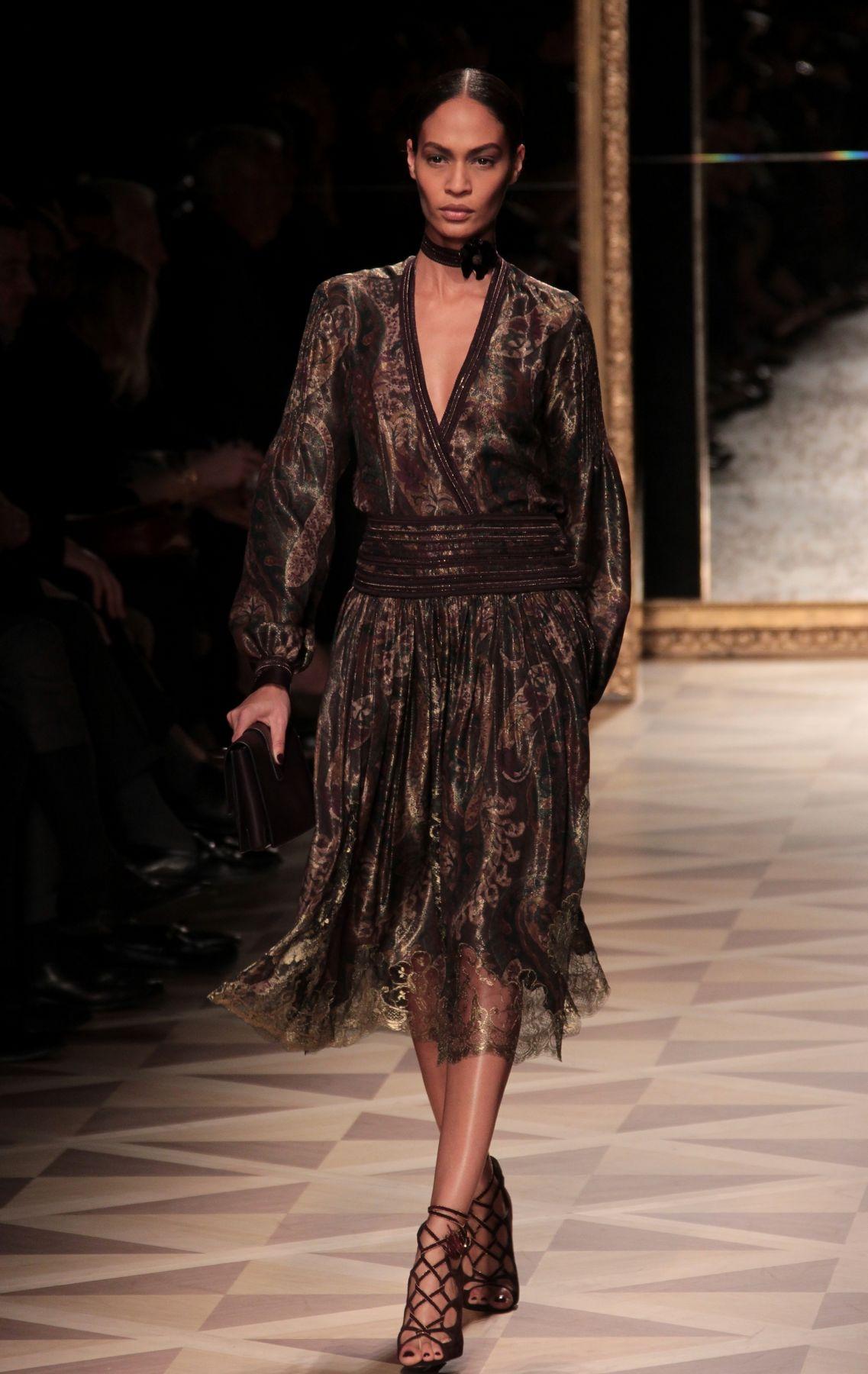 Woman Fashion Catwalk-Salvatore Ferragamo