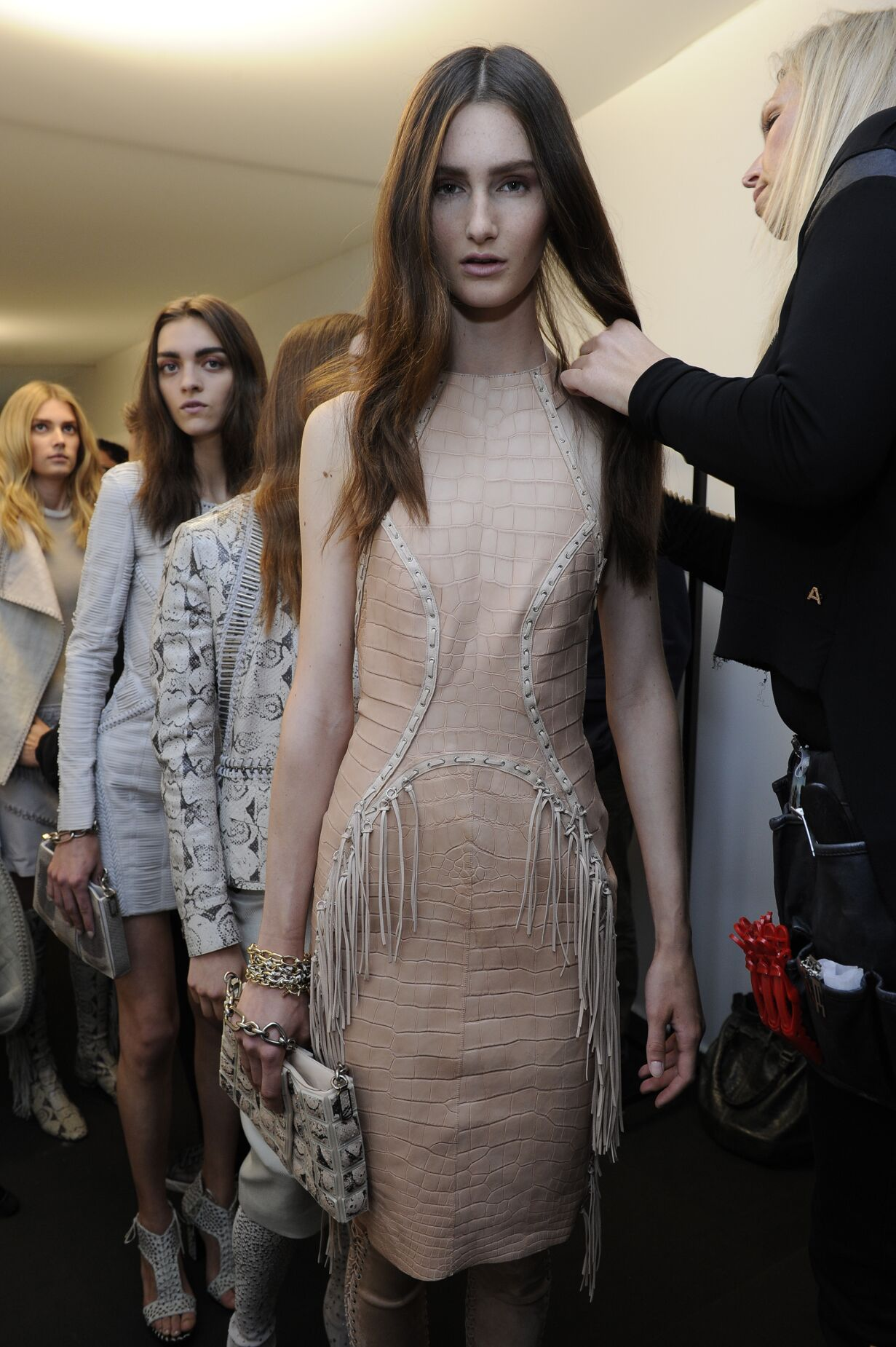 Backstage Runway Salvatore Ferragamo