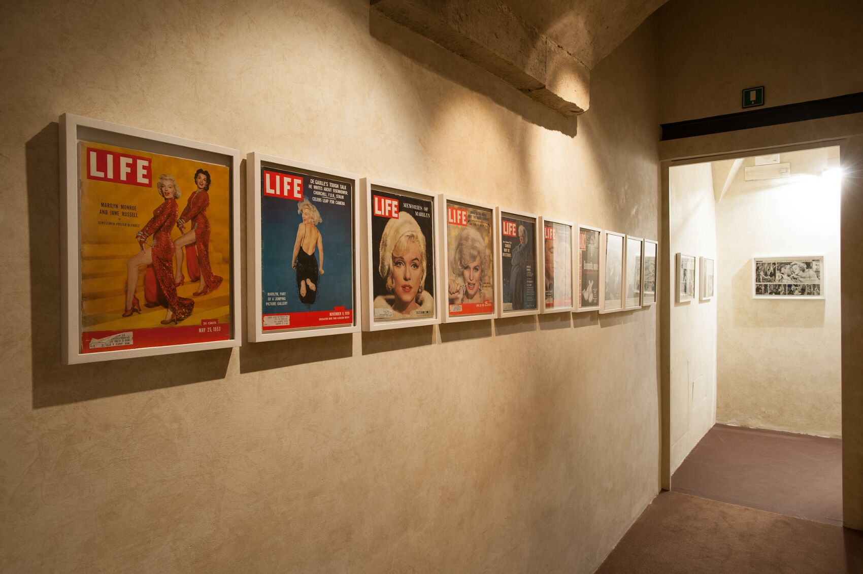 Marilyn Monroe Life Magazine Salvatore Ferragamo Museum