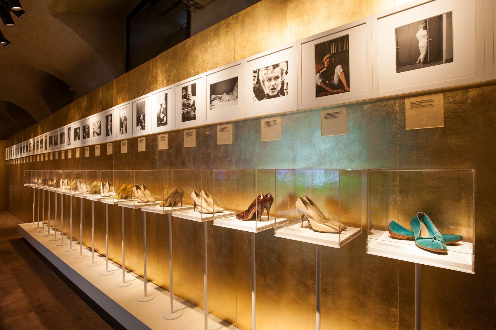 Marilyn Monroe Shoes Exhibition - Salvatore Ferragamo Museum