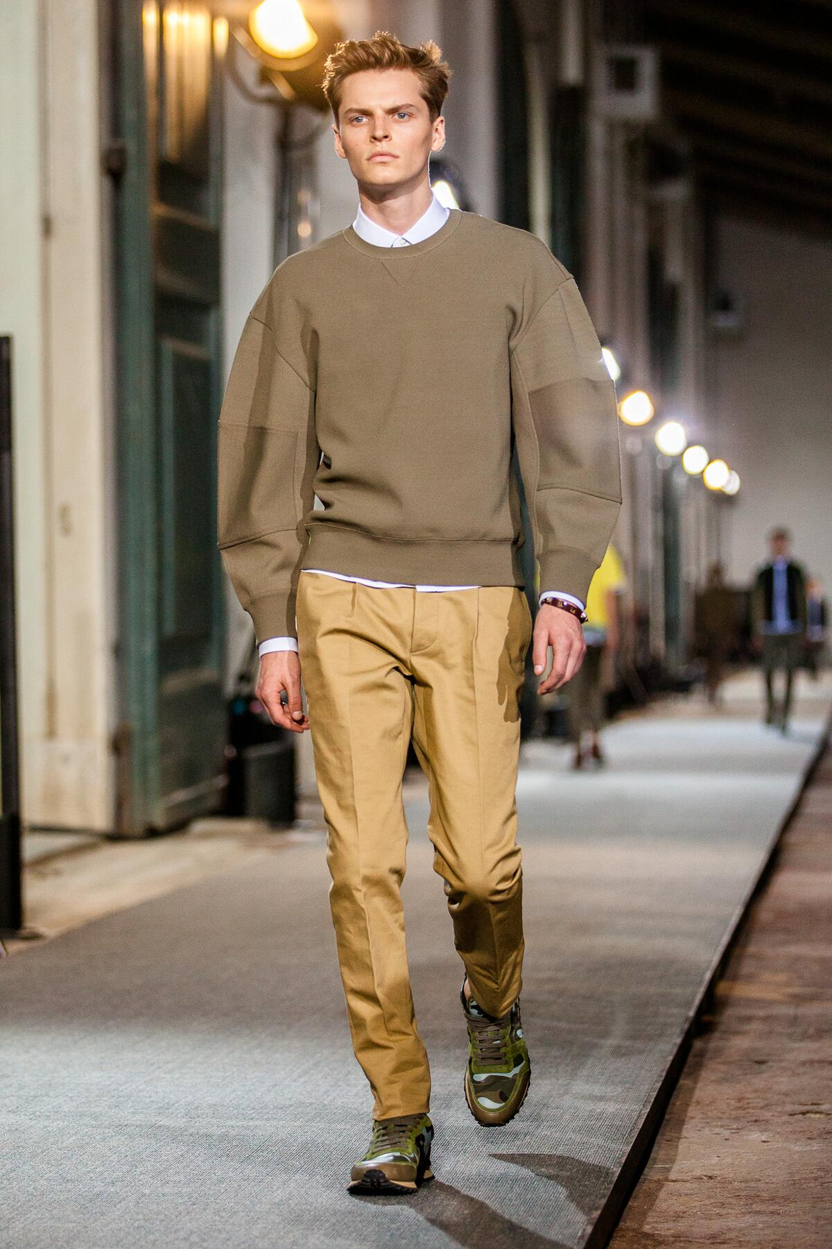 Runway Valentino Spring Summer 2013 Men Collection Pitti Immagine Uomo