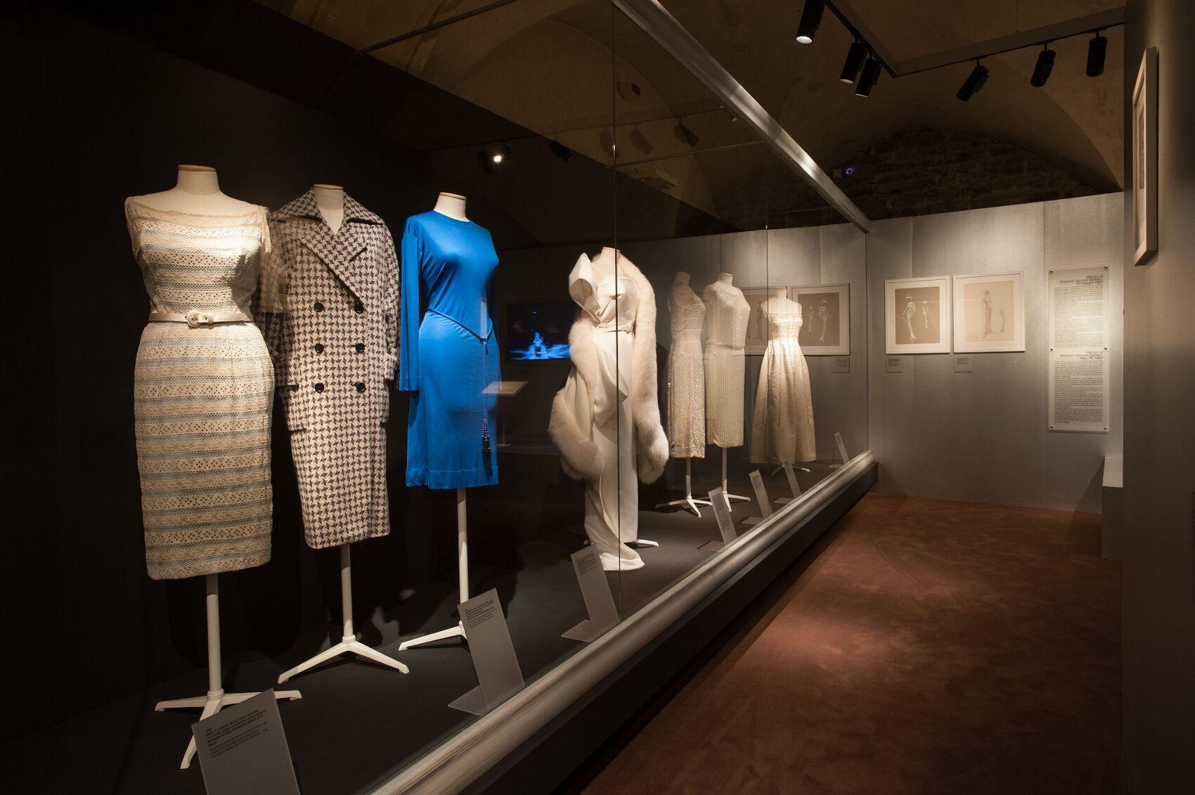 Salvatore Ferragamo Exhibition dedicated to Marilyn Monroe Salvatore Ferragamo Museum Dresses