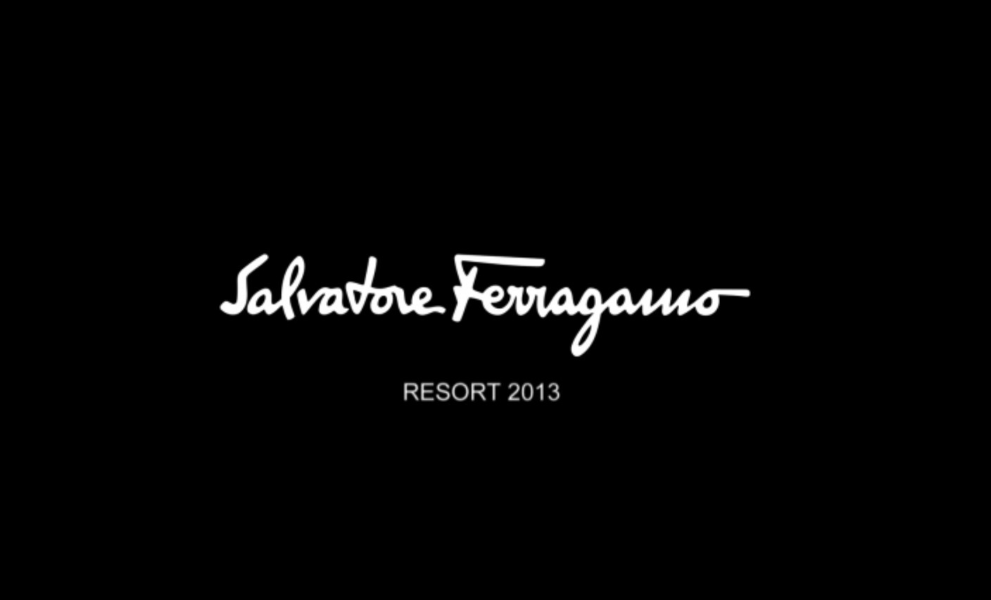 Salvatore Ferragamo Spring Summer 2013 Women's Resort Collection - Louvre Event