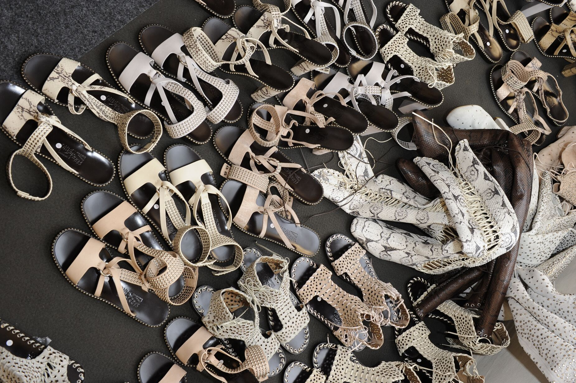 Salvatore Ferragamo Shoes Backstage