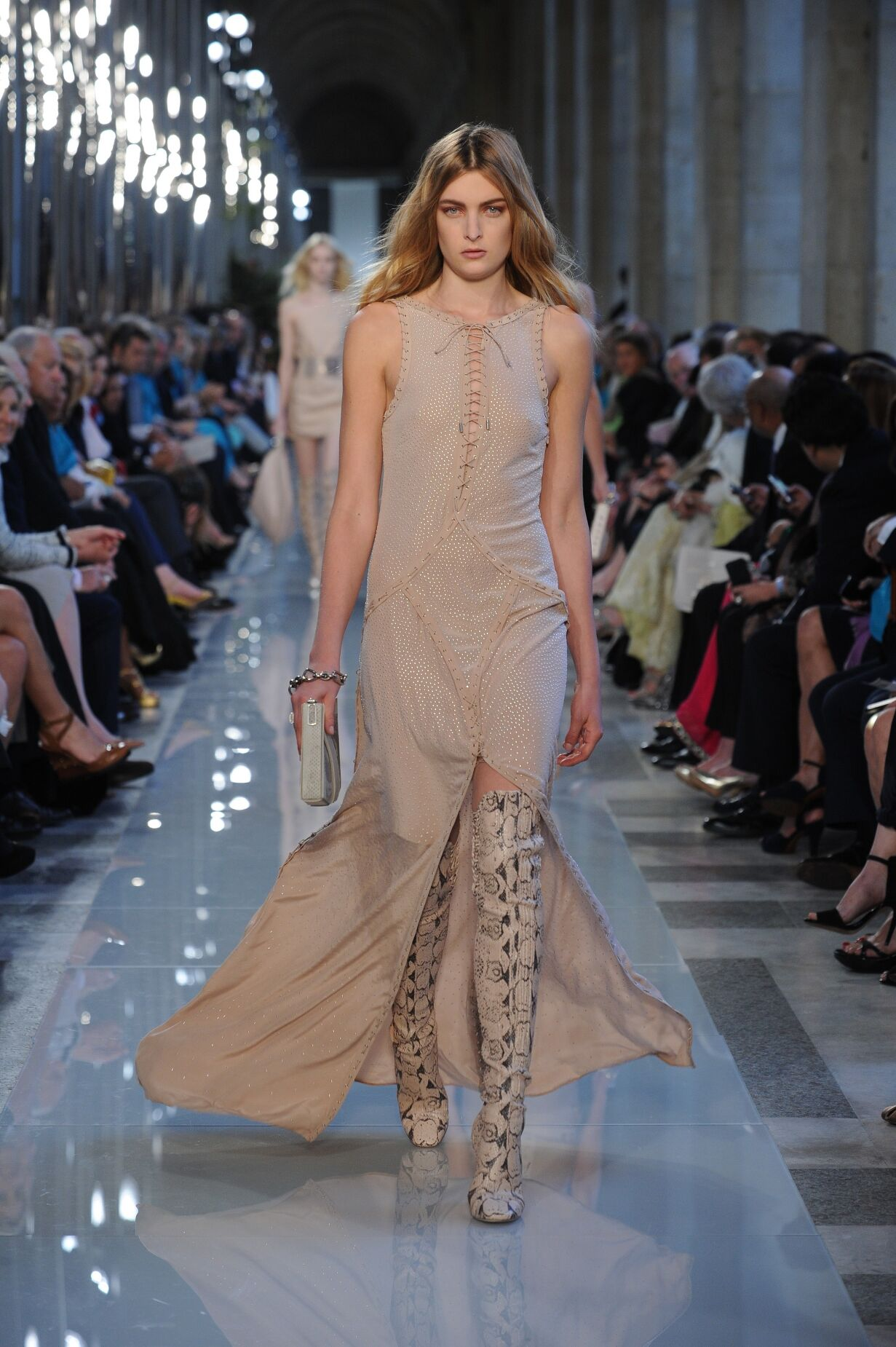 Salvatore Ferragamo Spring Summer 2013 Women's - Fashion Show Louvre