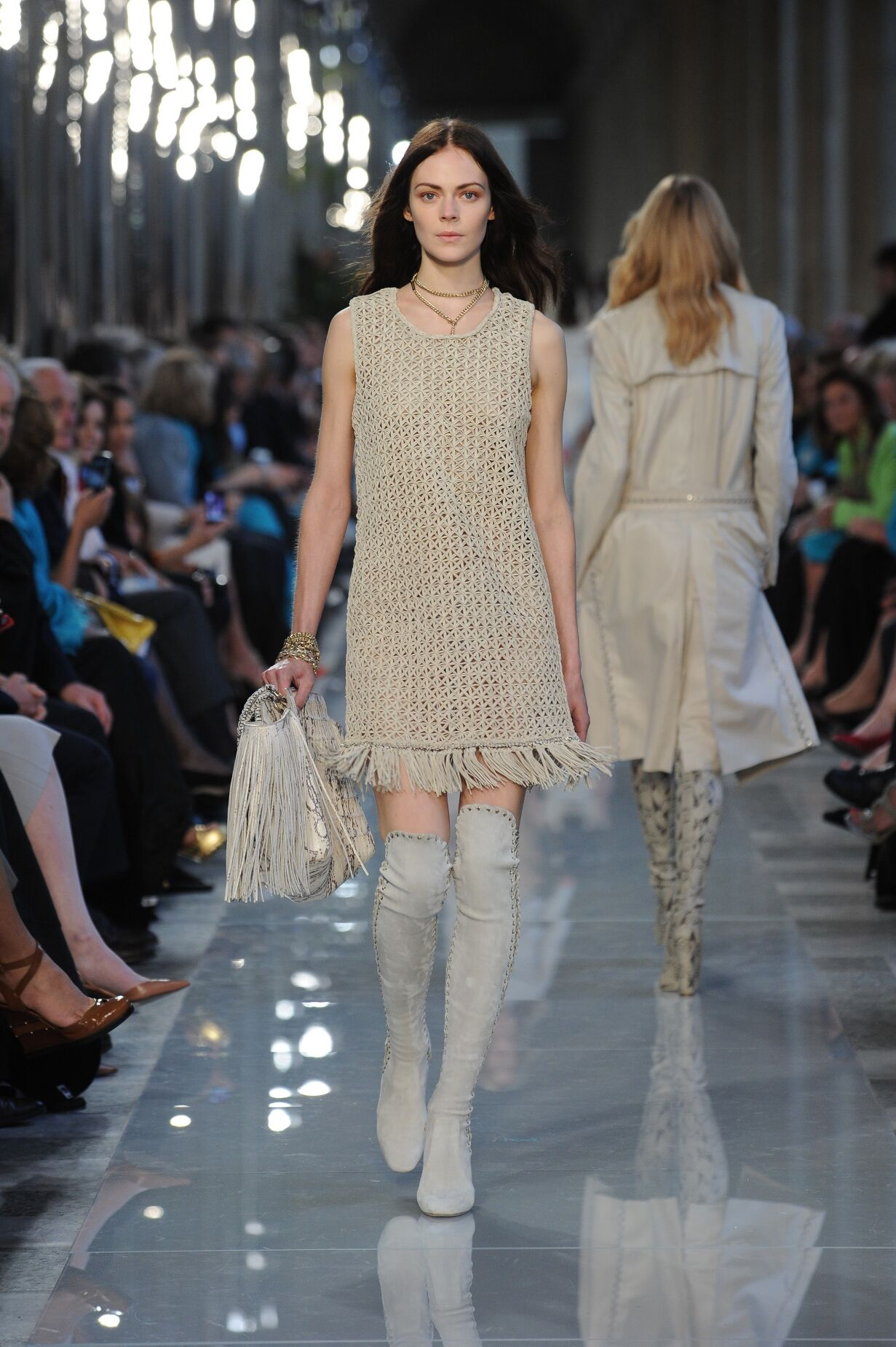 Salvatore Ferragamo Spring Summer 2013 Women's Resort Collection - Louvre