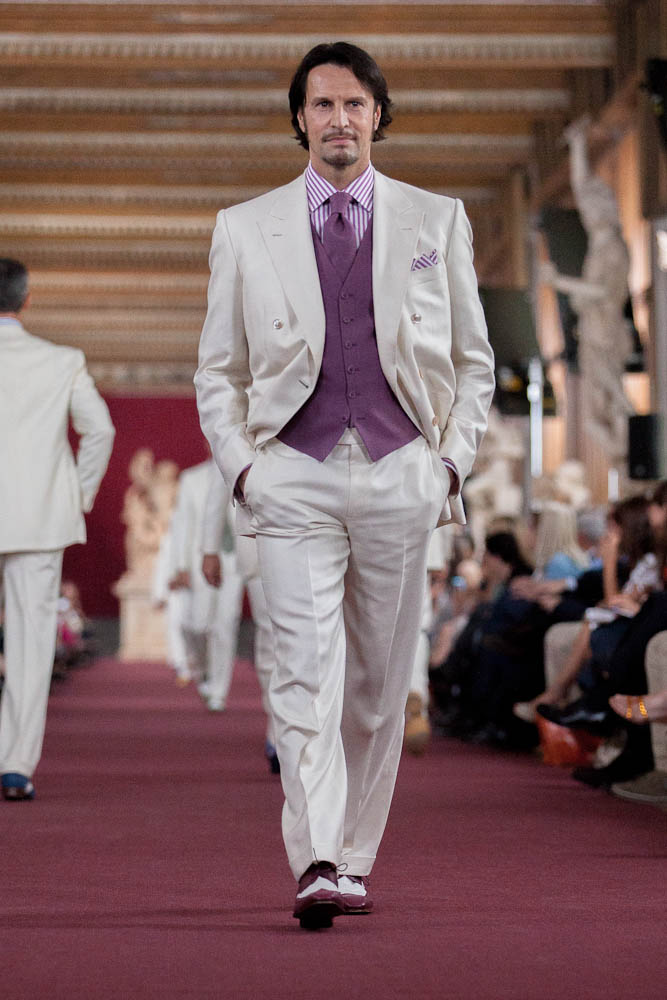 Stefano Ricci Spring Summer Men's Collection 2013 Uffizi Gallery Catwalk