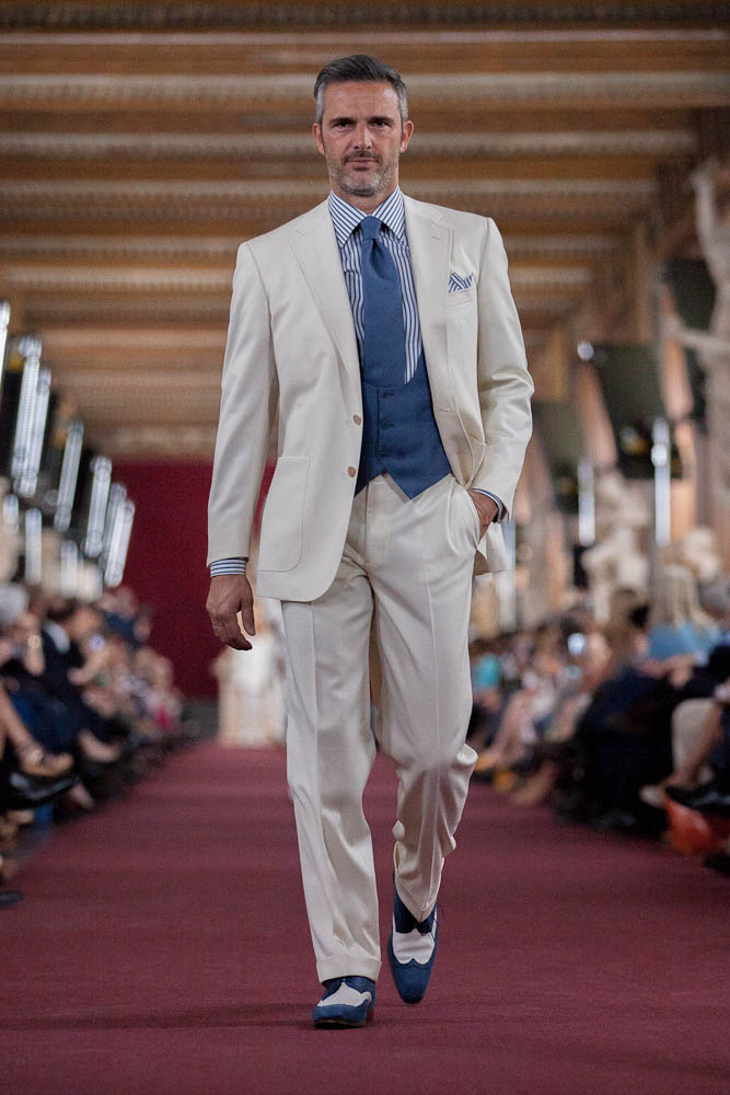 Stefano Ricci Spring Summer Men's Collection 2013 Uffizi Gallery Runway