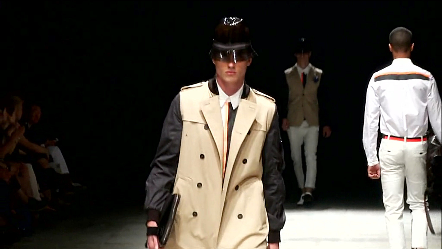 Andrea Pompilio Spring Summer 2013 Men's Fashion Show - Pitti Uomo