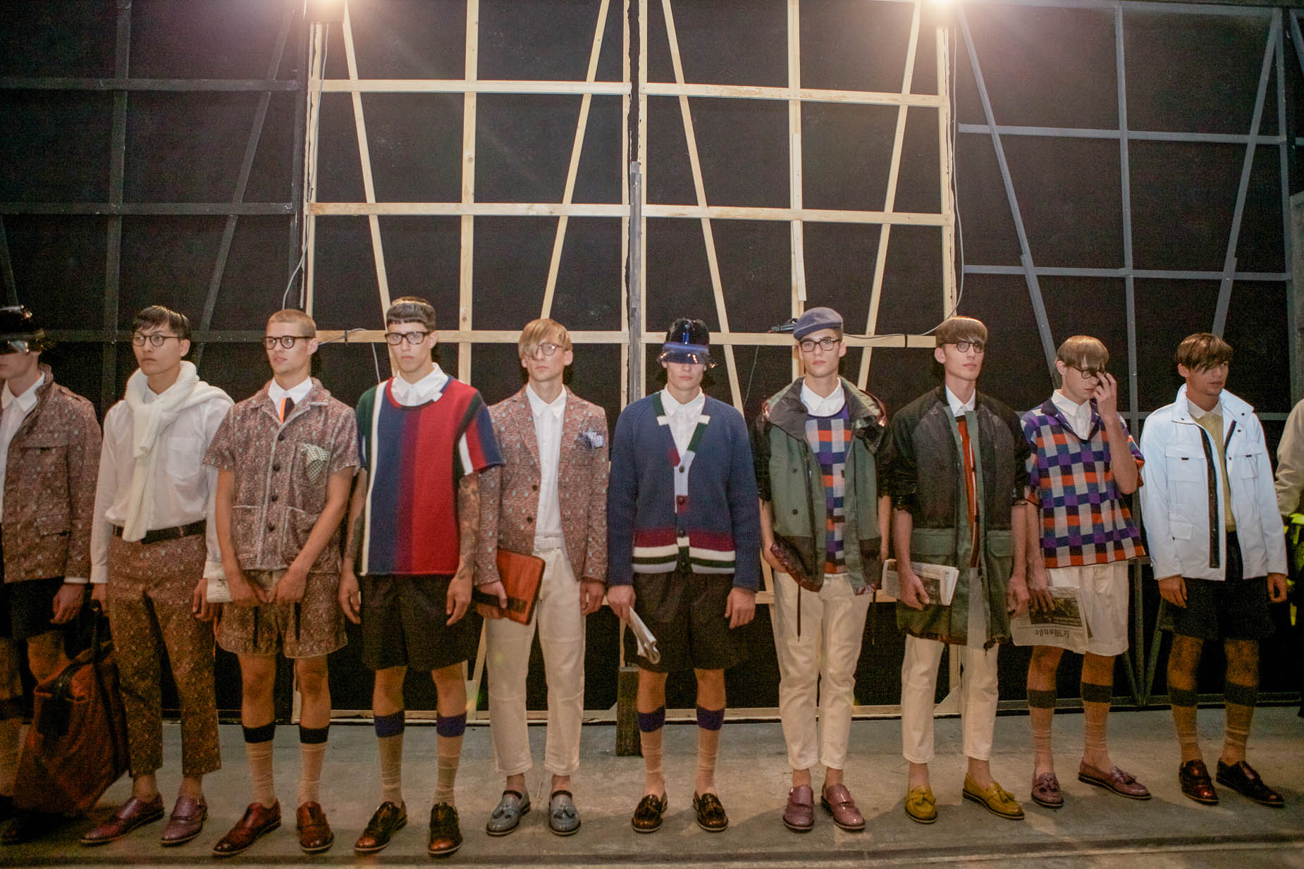 Backstage Spring Summer 2013 Fashion Menswear Trends