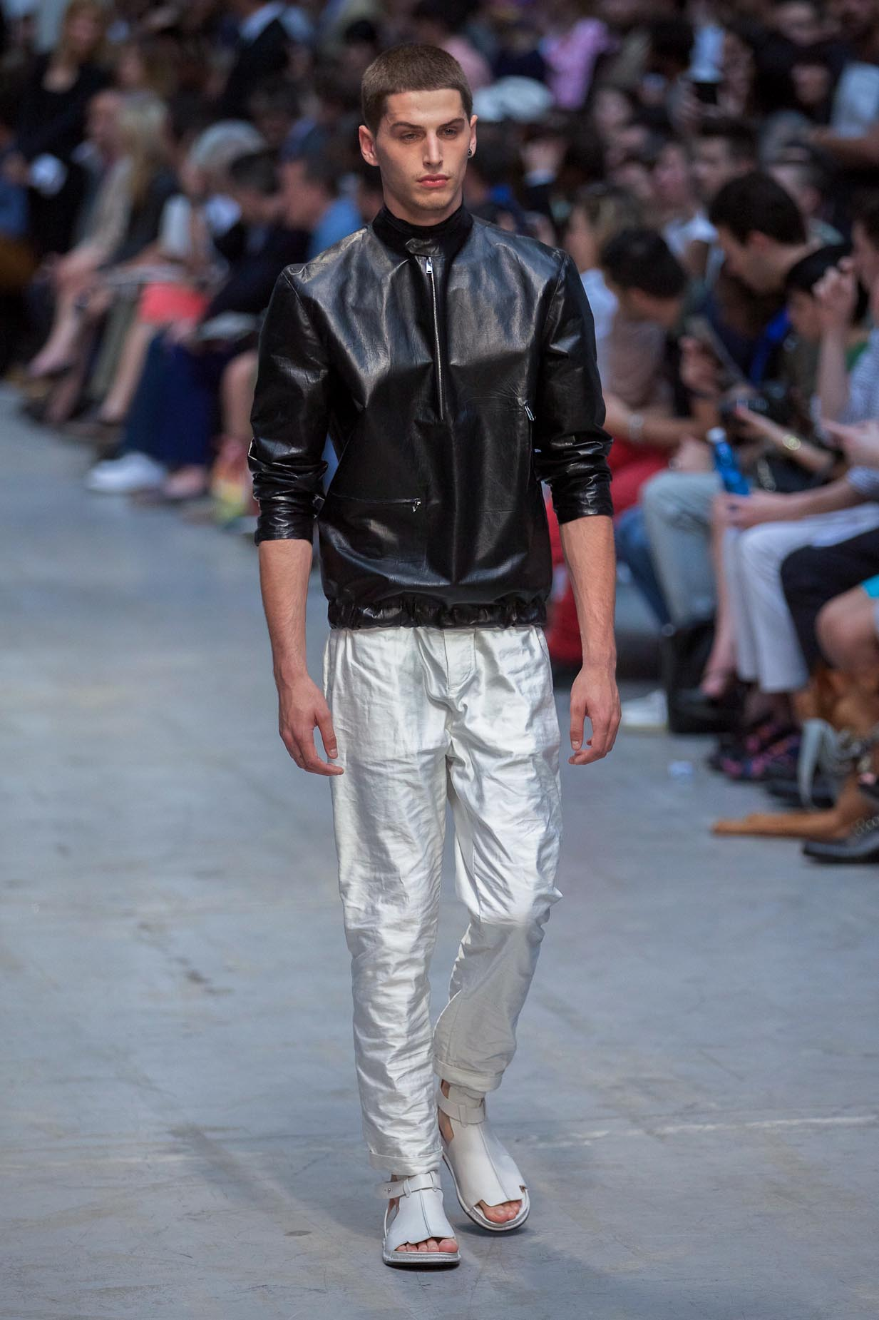 Catwalk Costume National Spring Summer 2013 Men Collection Milano Fashion Week