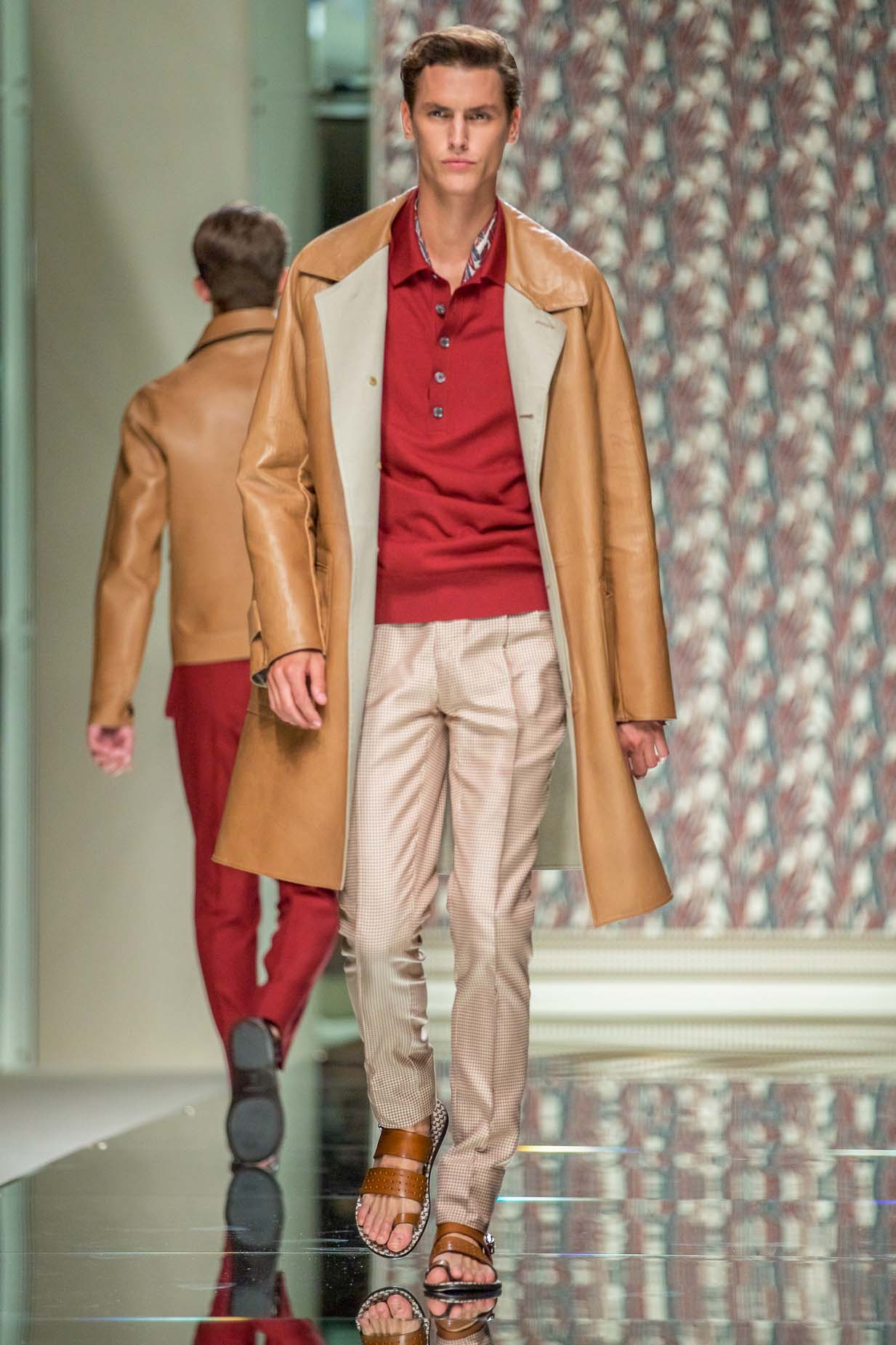Catwalk Ermenegildo Zegna Spring Summer 2013 Men Collection Milano Fashion Week