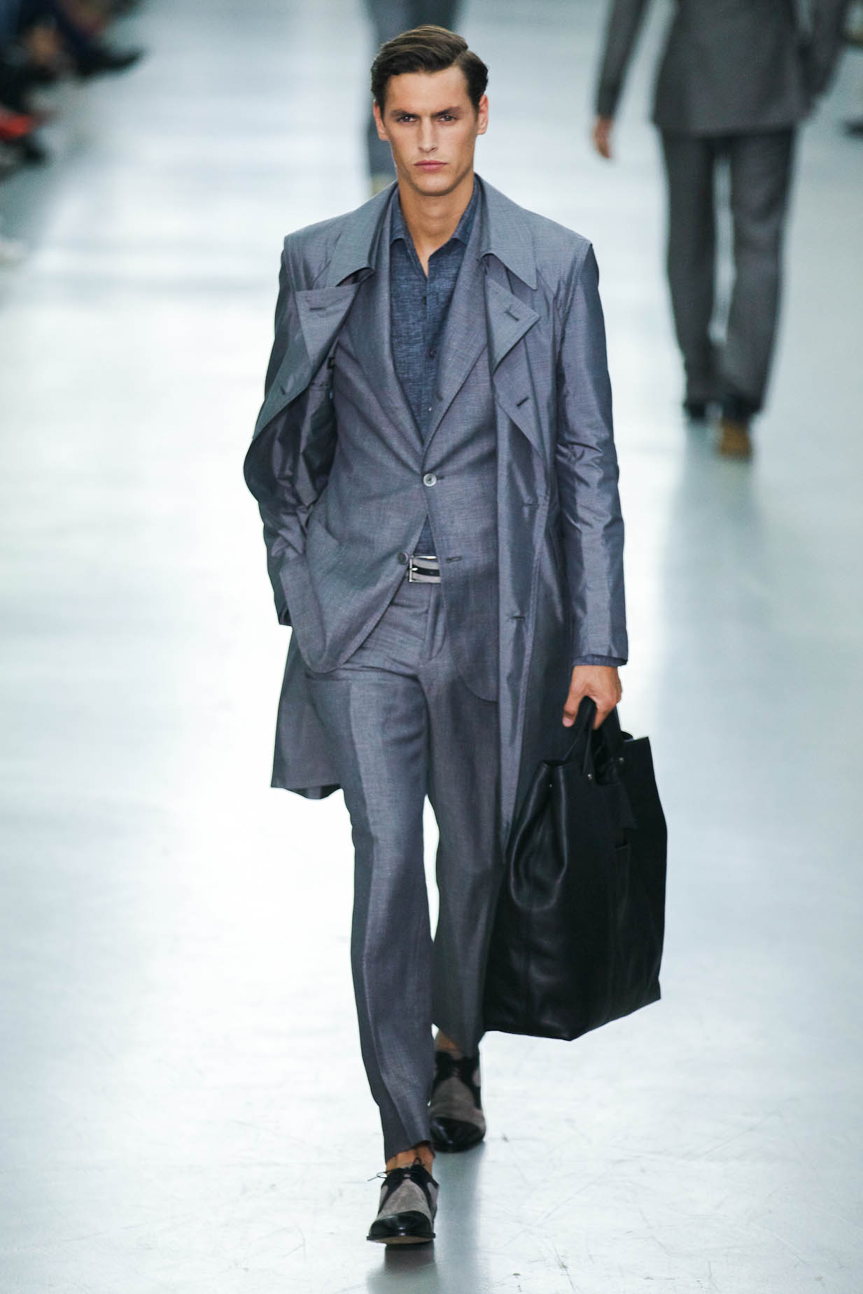 Corneliani Spring Summer 2013 Men's Collection Milano Fashion Week Fashion Show