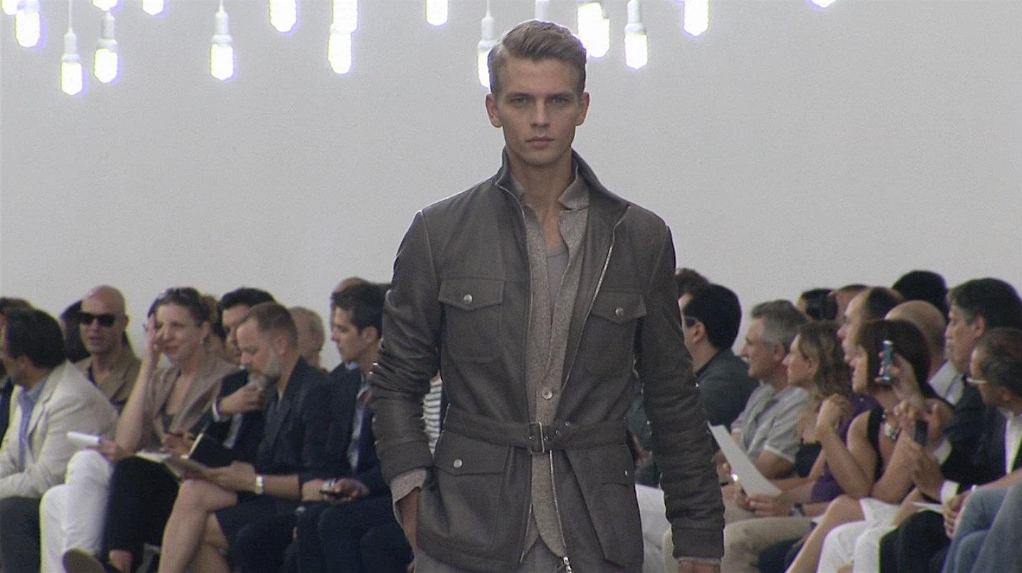 Corneliani Spring Summer 2013 Men's Fashion Show - Milano Fashion Week Uomo