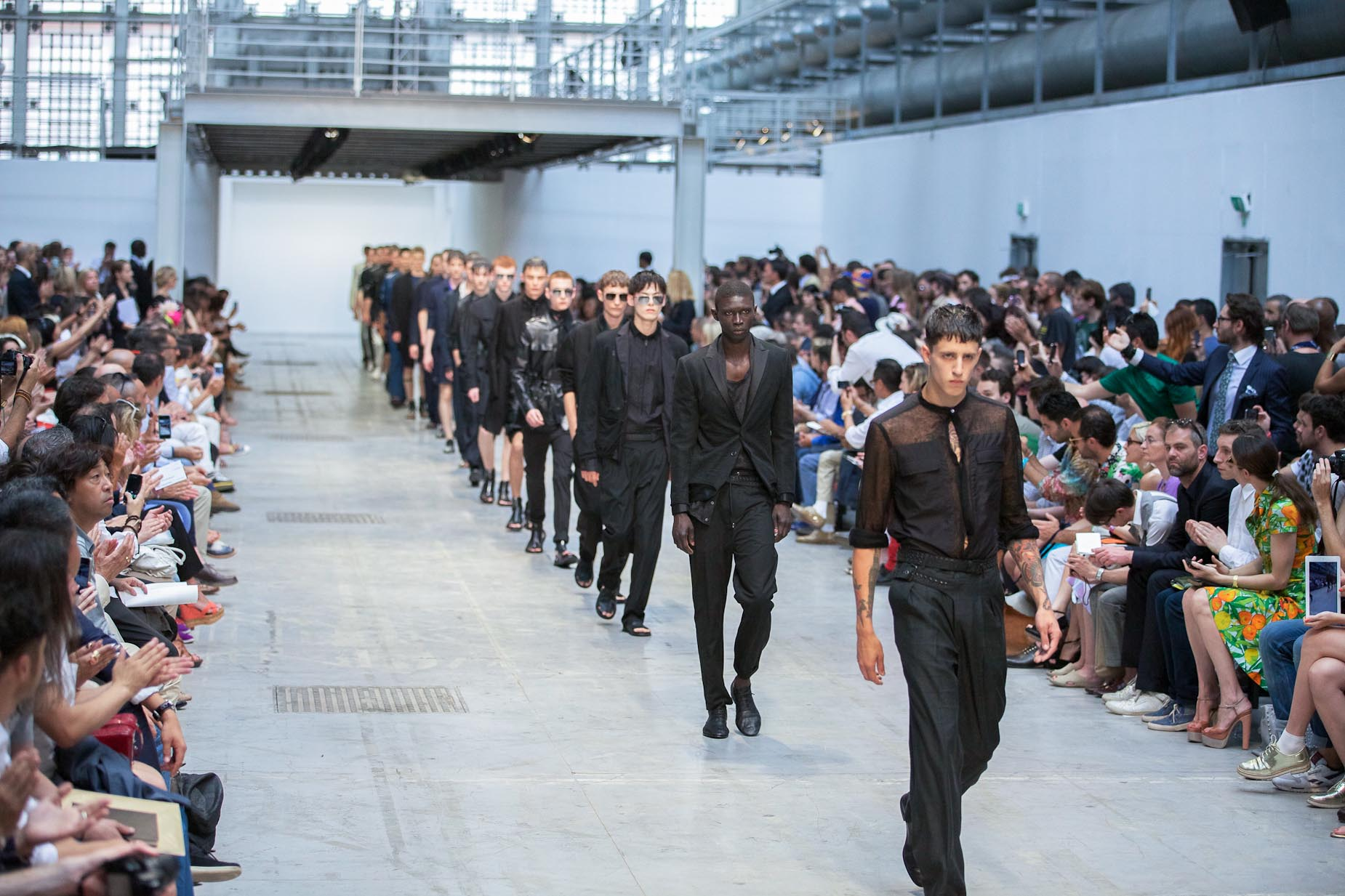 Costume National Homme Runway Finale