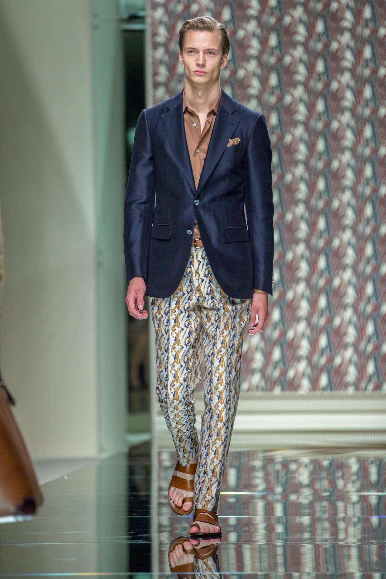 Ermenegildo Zegna Spring Summer 2013 Men Collection Milano Fashion Week