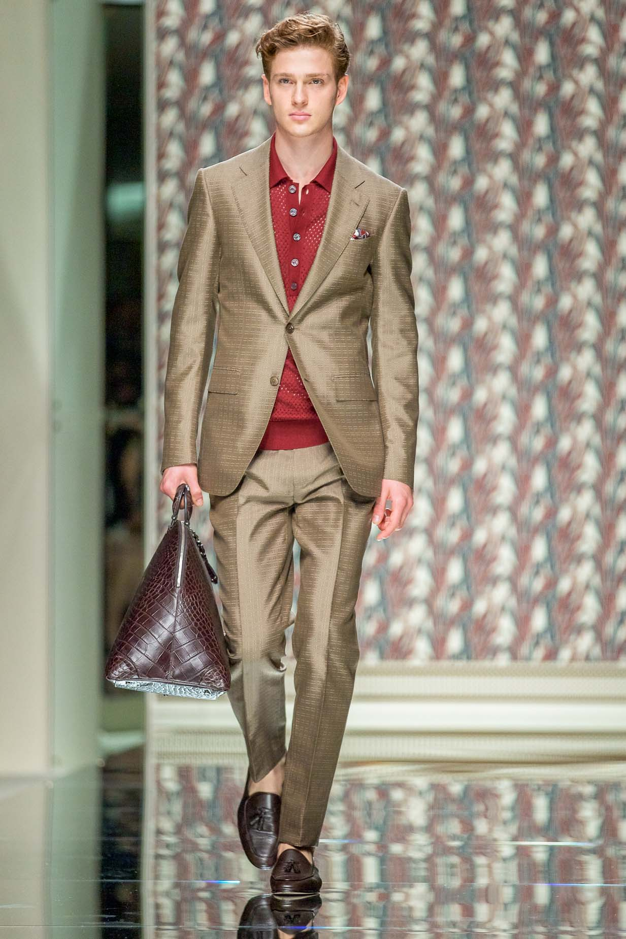 Ermenegildo Zegna Spring Summer 2013 Men's Collection Milano Fashion Week Fashion Show