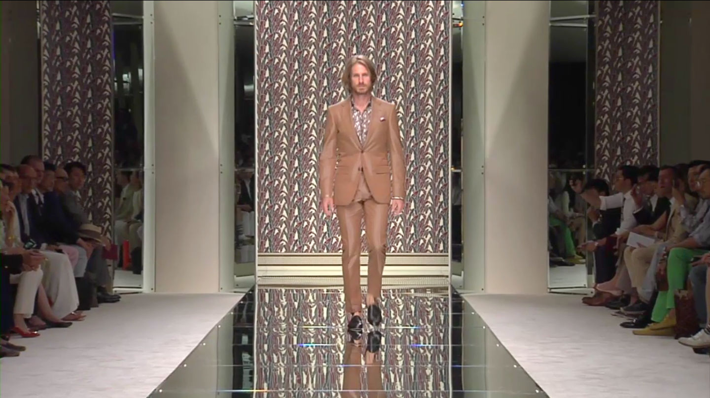 Ermenegildo Zegna Spring Summer 2013 Men's Fashion Show - Milano Fashion Week