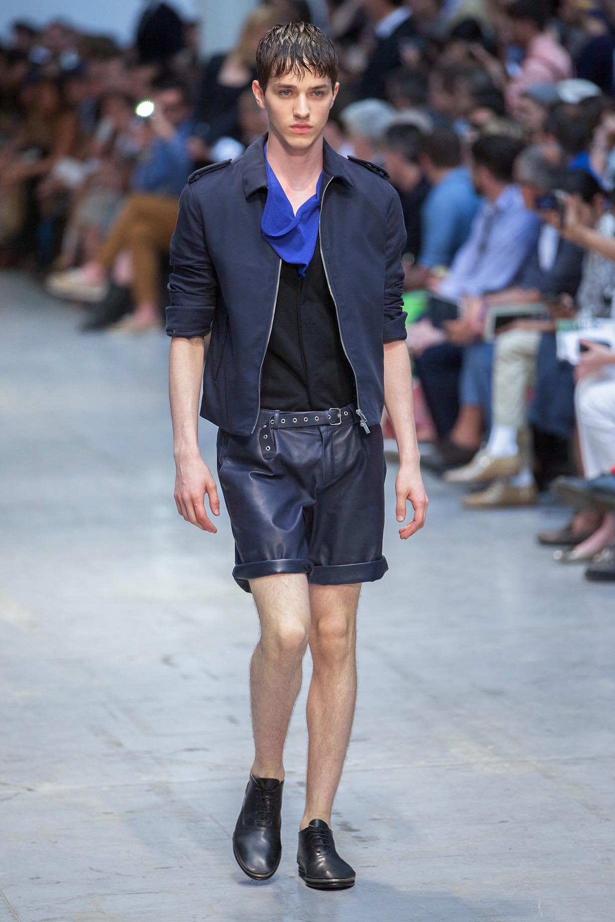 Runway Costume National Homme Spring Summer 2013
