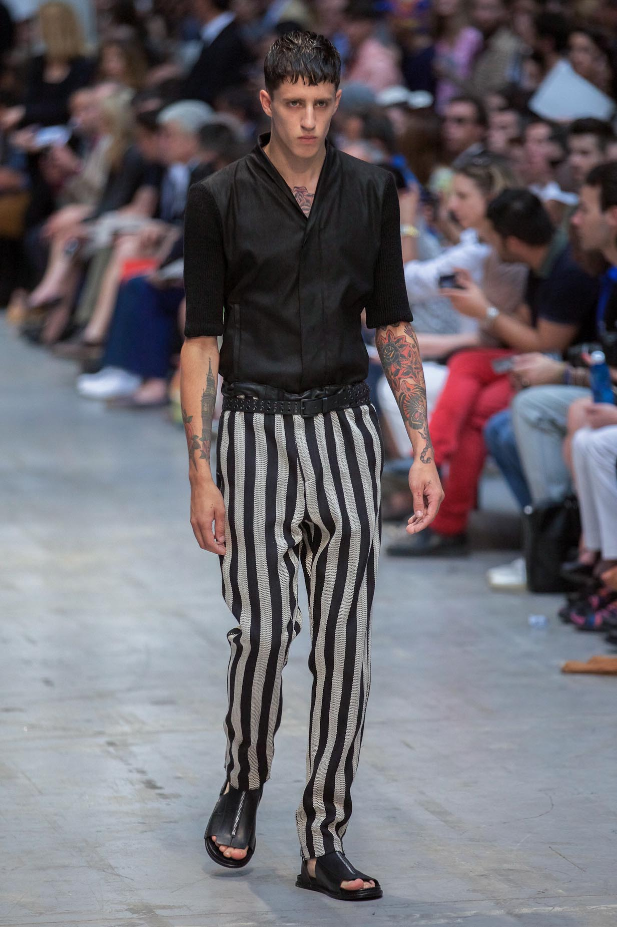 Runway Costume National Spring Summer 2013 Men Collection Milano Fashion Week